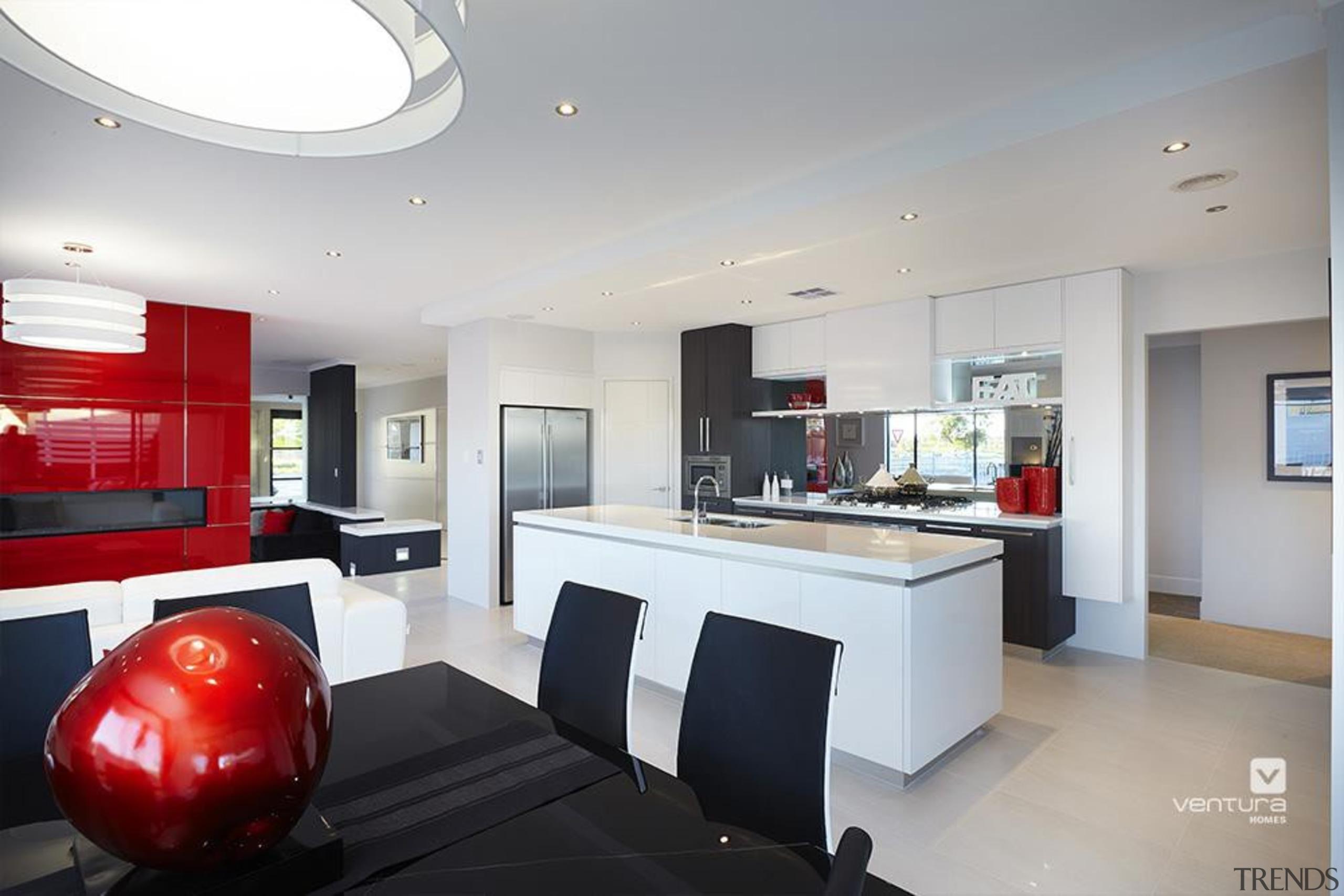 Kitchen design. - The Montrose Display Home - ceiling, interior design, kitchen, property, real estate, gray