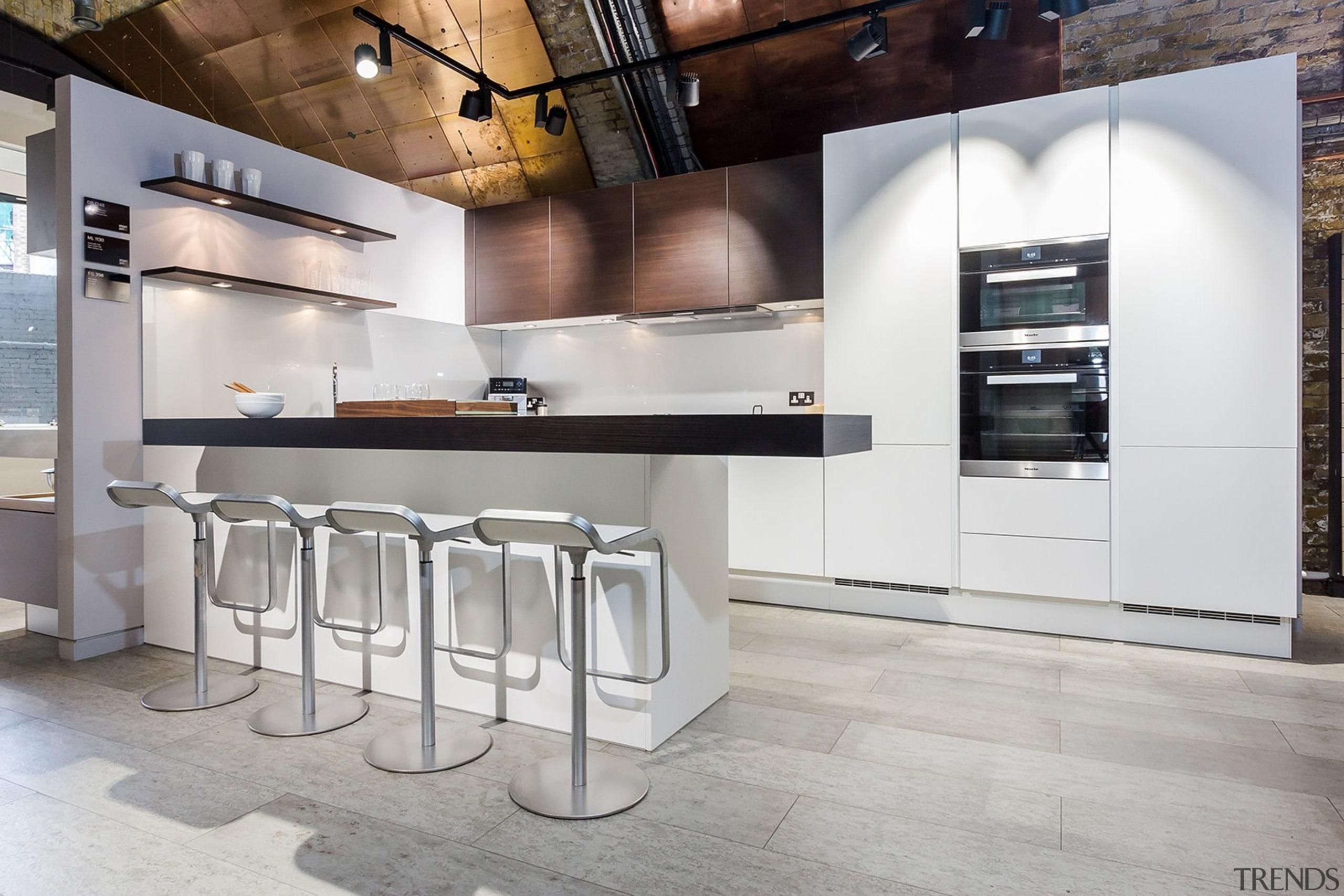 Concreate CF101 PoggenPohl 15 - Concreate_CF101_PoggenPohl_15 - countertop countertop, cuisine classique, floor, flooring, interior design, kitchen, product design, gray
