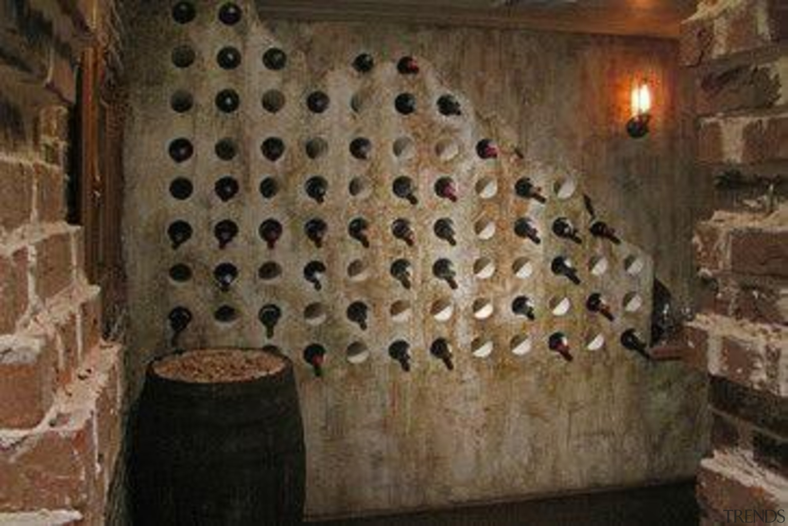 Modern Wine Cellar Ideas - Modern Wine Cellar wall, wine cellar, winery, brown, black