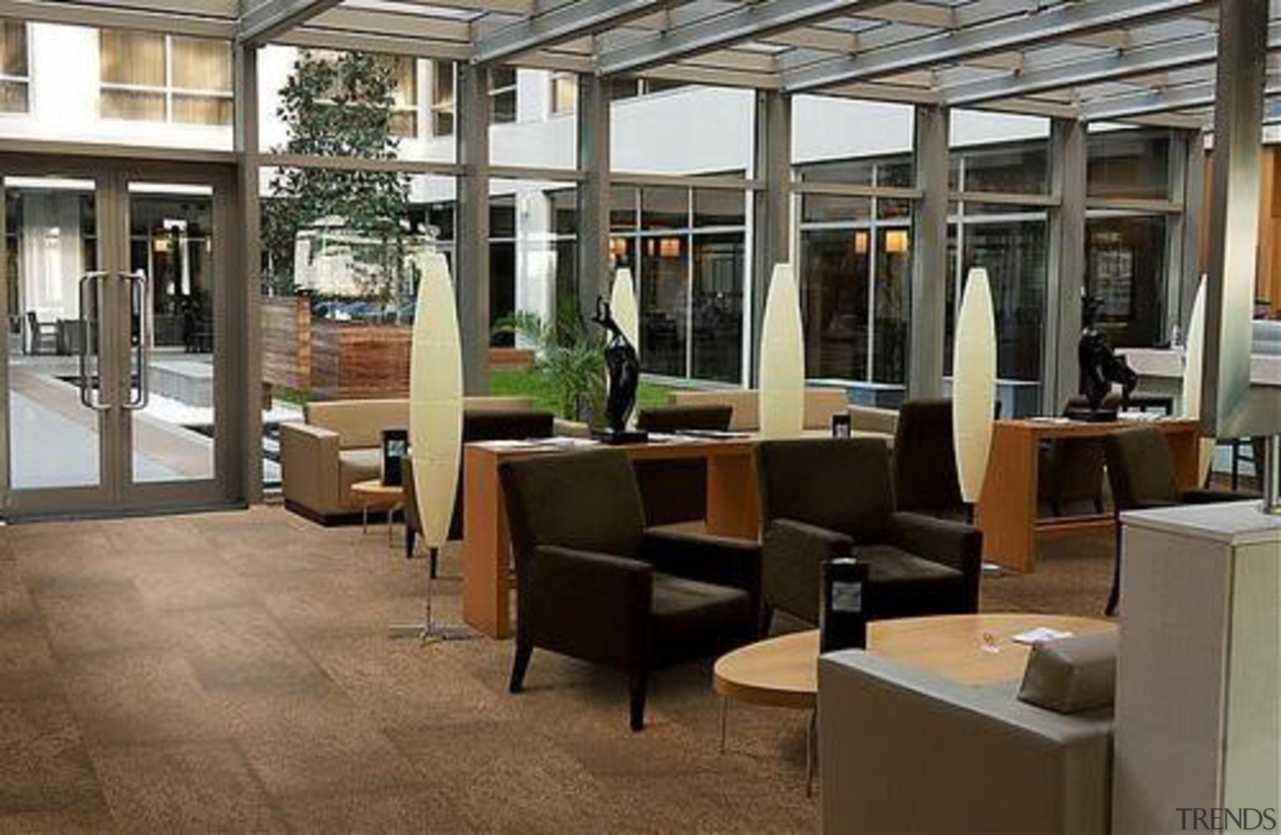 Cork Comfort - Slate Moccaccino - Cork Comfort furniture, interior design, lobby, black, brown