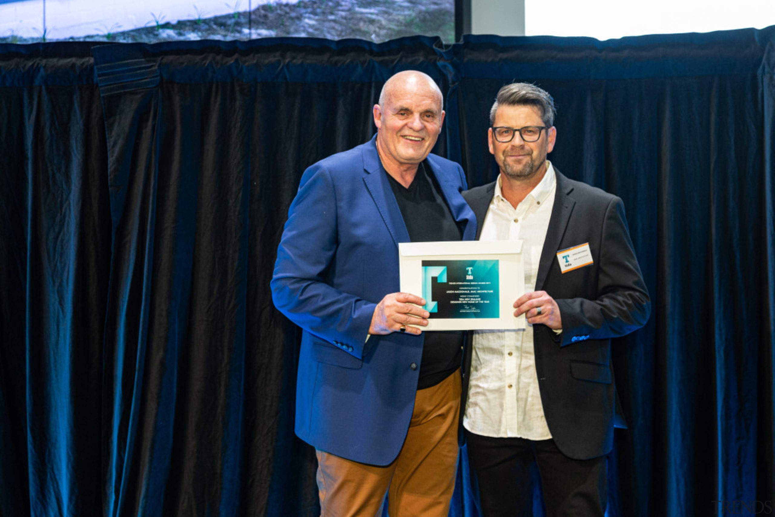 2019 TIDA New Zealand Homes presentation evening award, award ceremony, community, event, blue, black