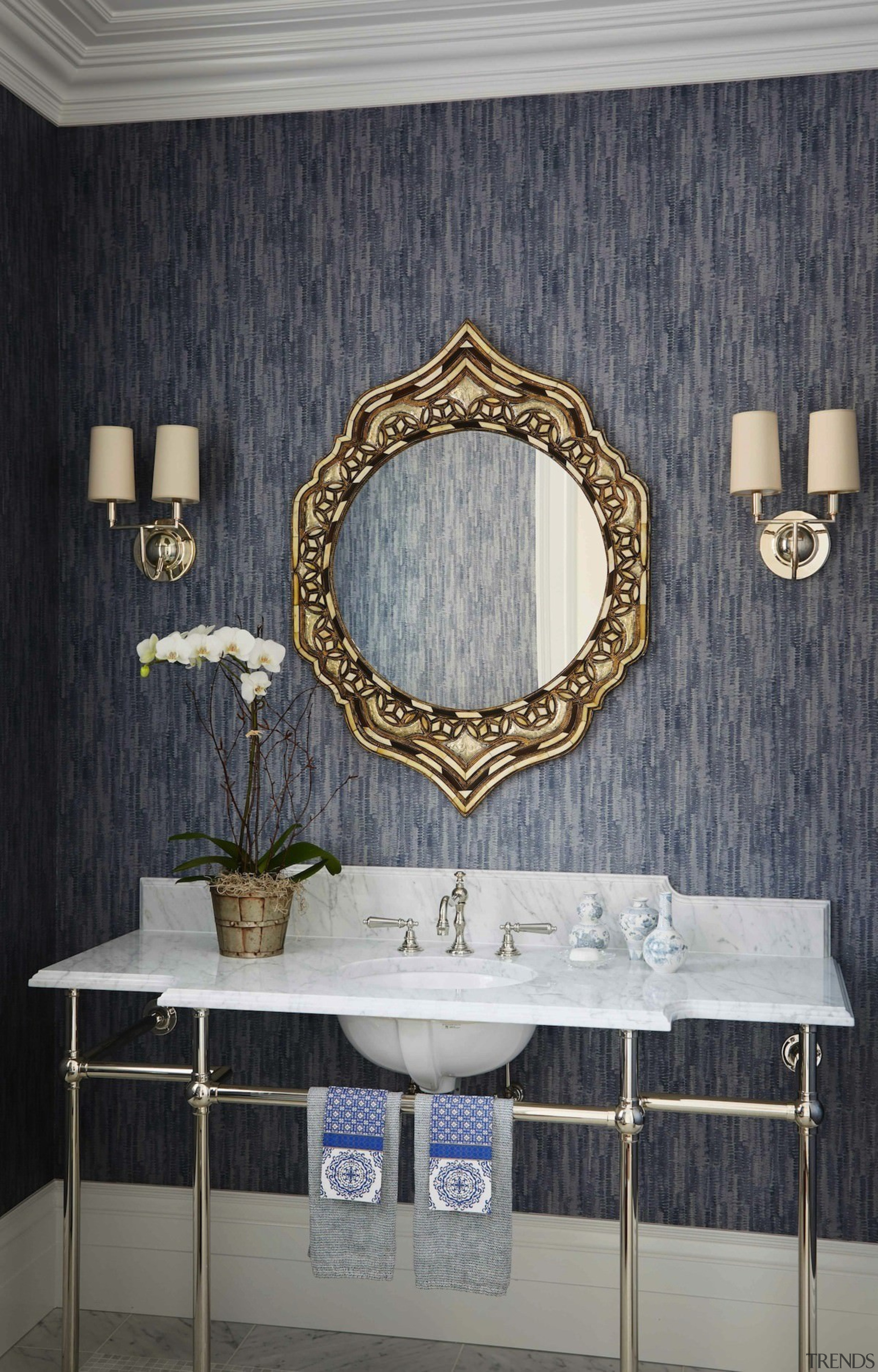 This powder room is luxurious and elegant - bathroom, interior design, room, wall, window, gray, black