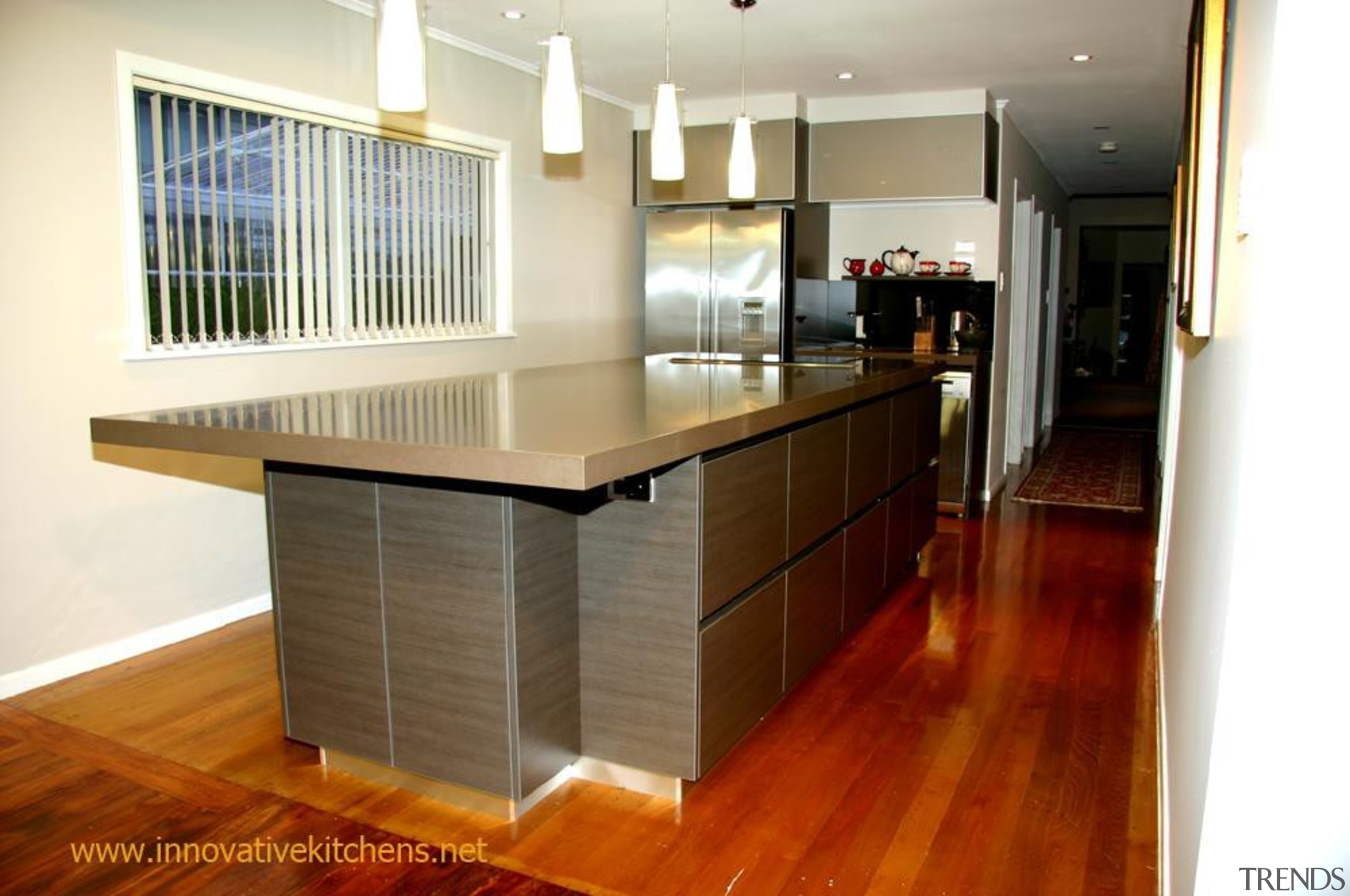 19 modern lynfield 2012 1.jpg - 19_modern_lynfield_2012_1.jpg - cabinetry, countertop, floor, flooring, hardwood, interior design, kitchen, property, real estate, room, wood, wood flooring, white, brown