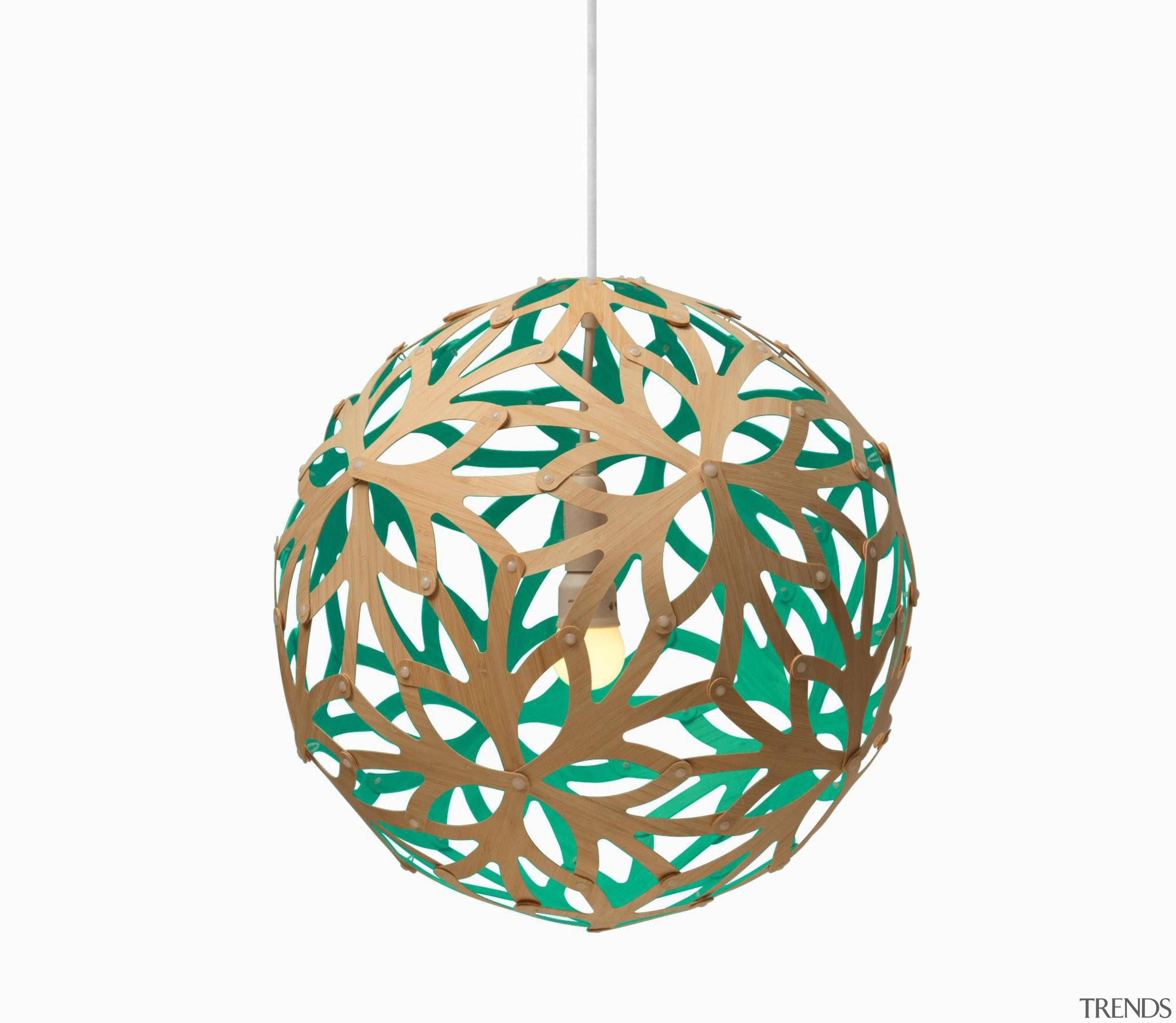 These arresting lights by designer David Trubridge make ceiling fixture, christmas ornament, lighting accessory, white