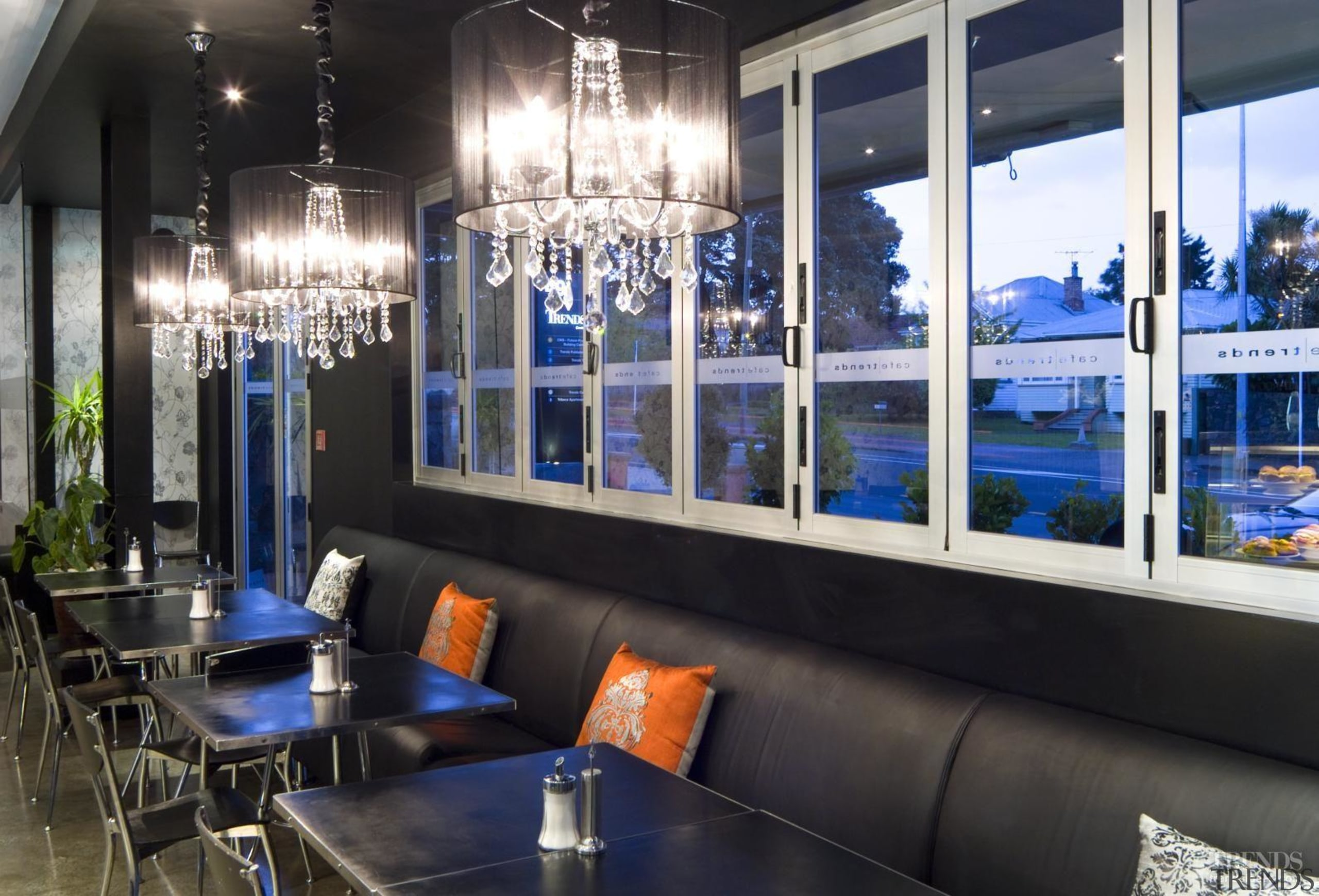 Durable and visually effective Resene paints were chosen interior design, window, black