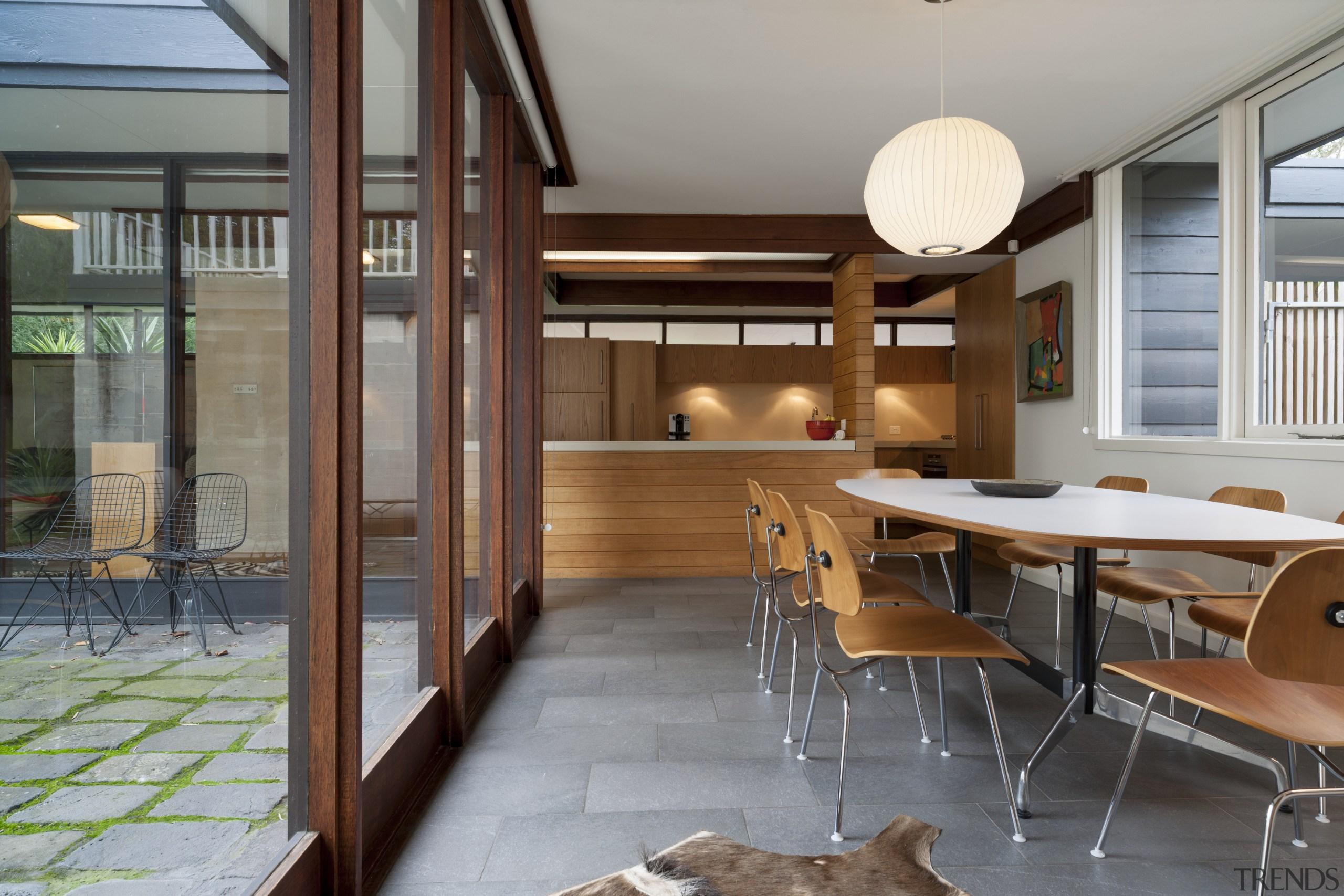 All the cabinets are American oak veneer, except architecture, house, interior design, real estate, gray