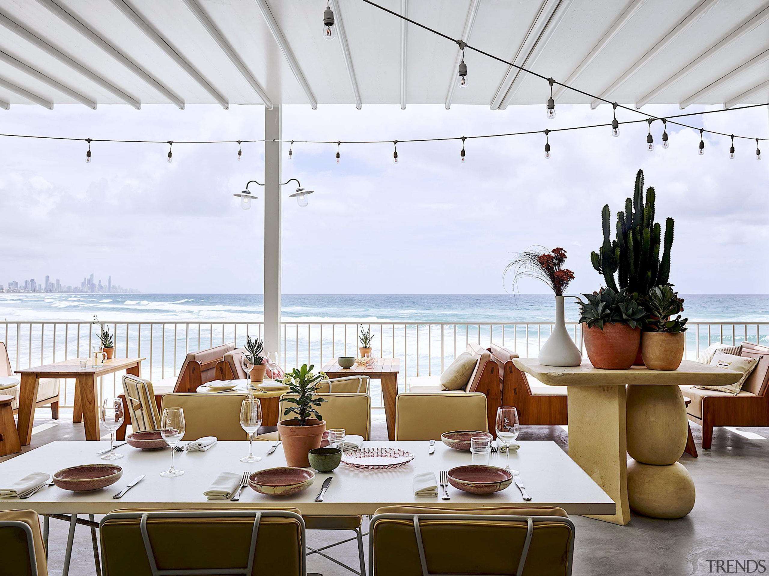 The main beach bar at Burleigh Pavilion has