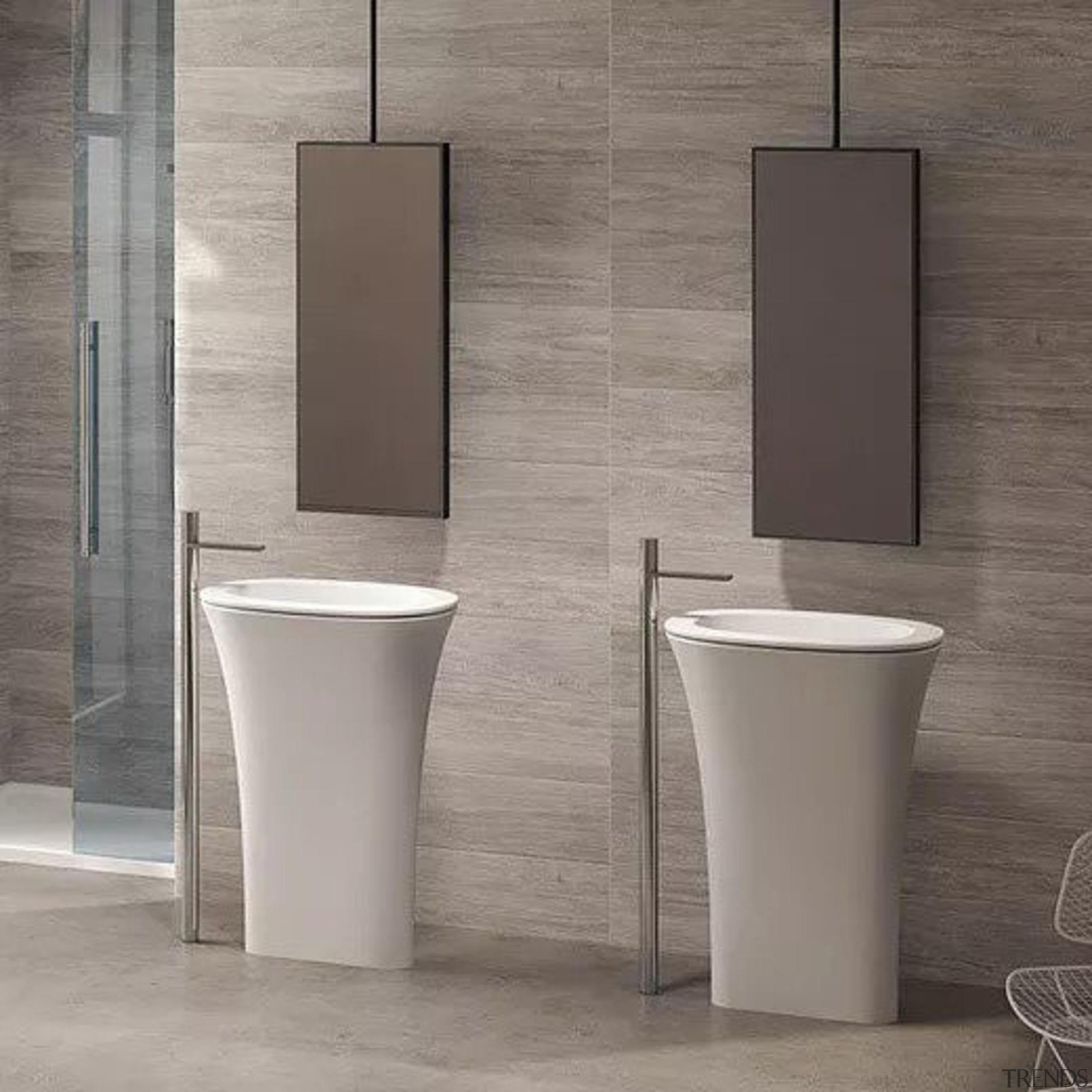 Karim - bathroom   bidet   ceramic   bathroom, bidet, ceramic, floor, plumbing fixture, product design, sink, tap, toilet, gray