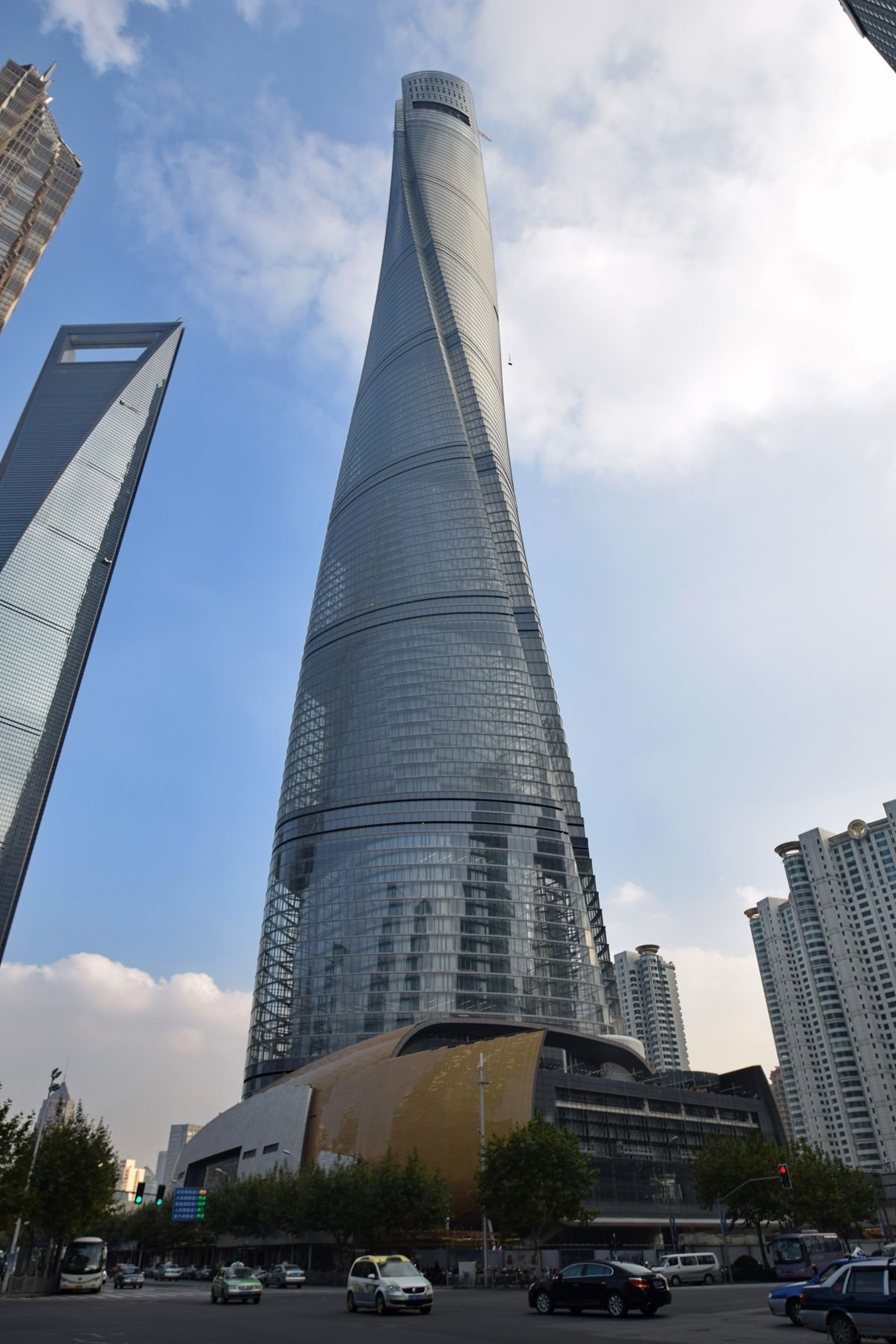 1. Shanghai Tower – 632 m (2,073 ft) architecture, building, city, condominium, corporate headquarters, daytime, headquarters, landmark, metropolis, metropolitan area, sky, skyscraper, tower, tower block, urban area, white