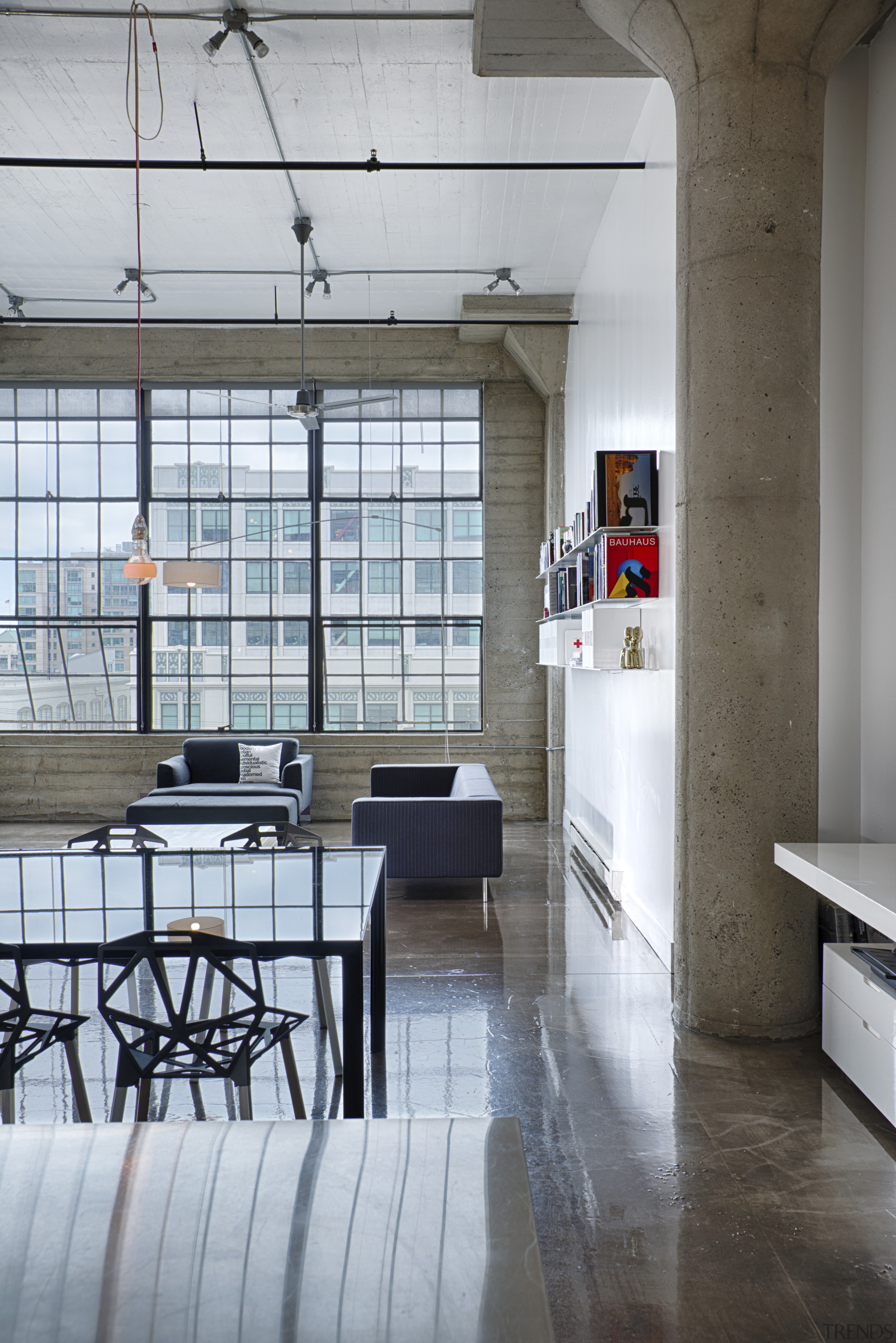 Strength Of Character Loft Makeover By Architect Architecture, Daylighting,  Floor, Furniture, House