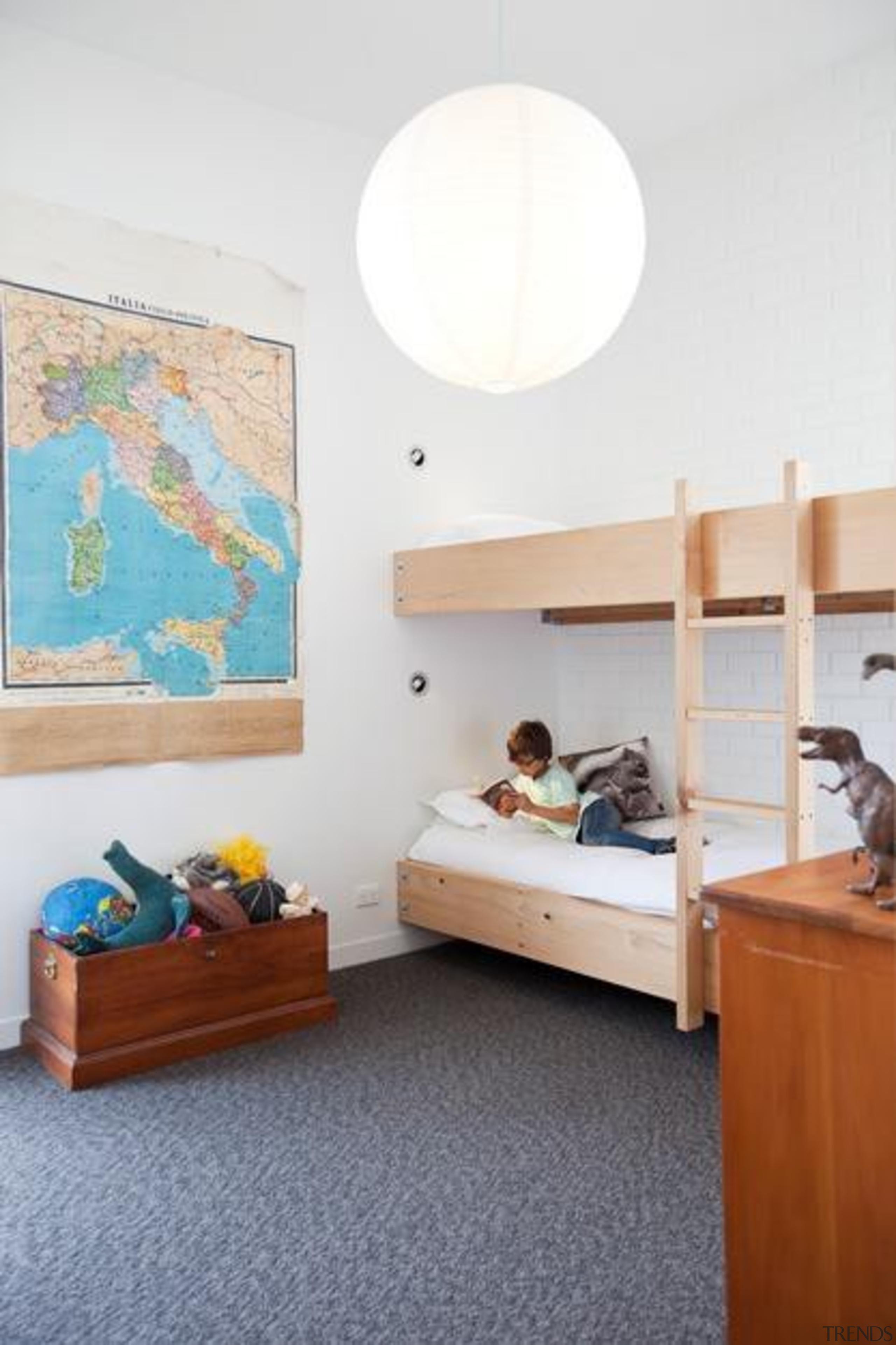 kids room - bed   bedroom   ceiling bed, bedroom, ceiling, floor, flooring, furniture, home, house, interior design, room, wall, white