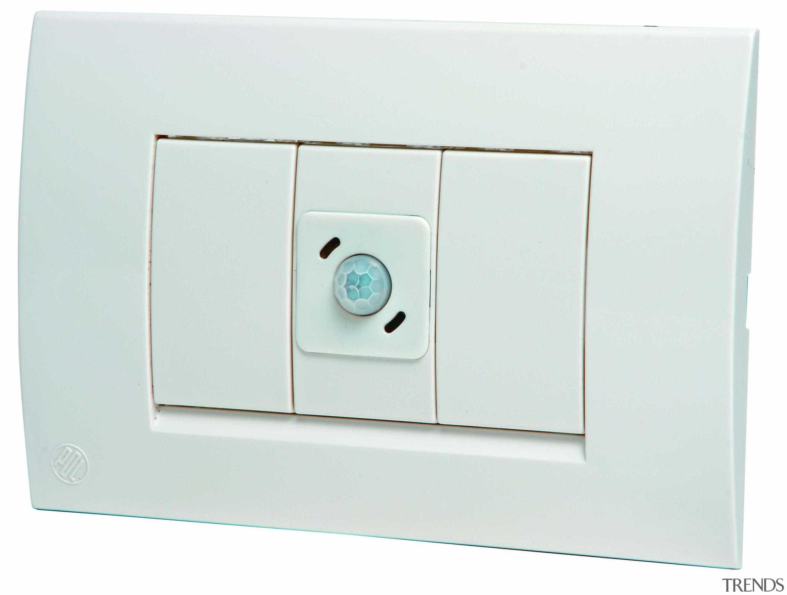 Modena with occupancy sensor - White - Modena light switch, switch, technology, white
