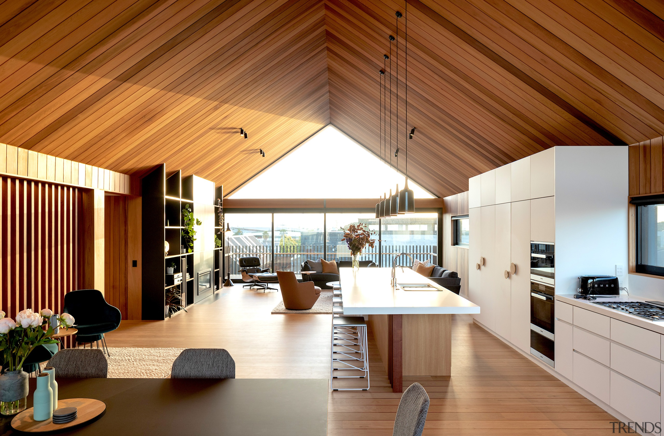 From an architectural perspective this home is designed
