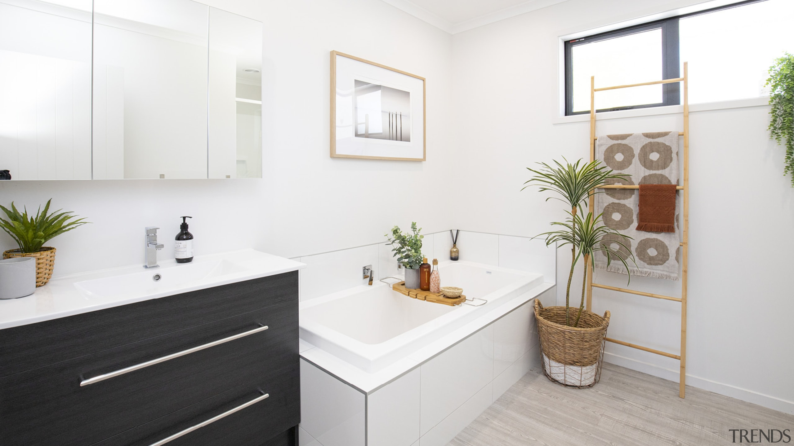 The quality bathroom vanity is Raymor – in