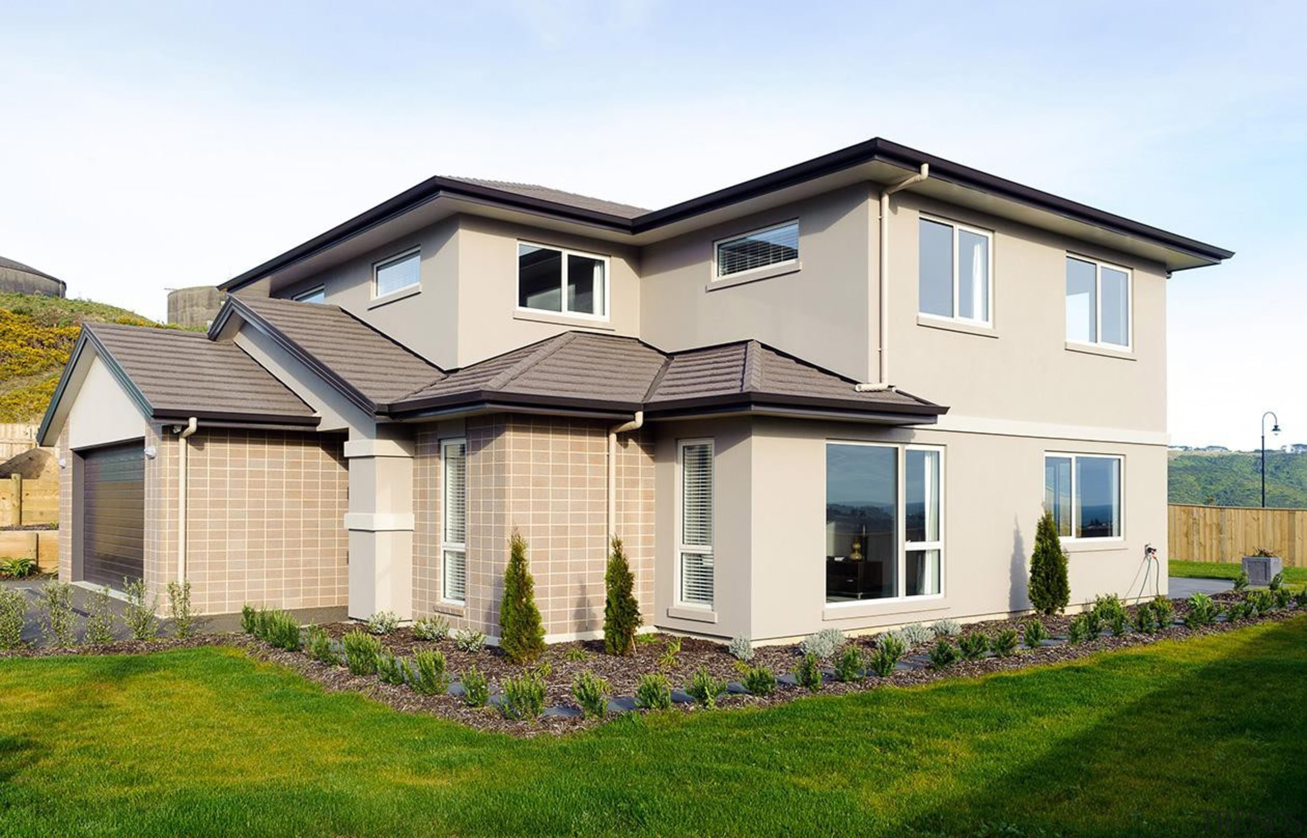 For more information, please visit www.gjgardner.co.nz building, cottage, elevation, estate, facade, home, house, neighbourhood, property, real estate, residential area, roof, siding, window, white