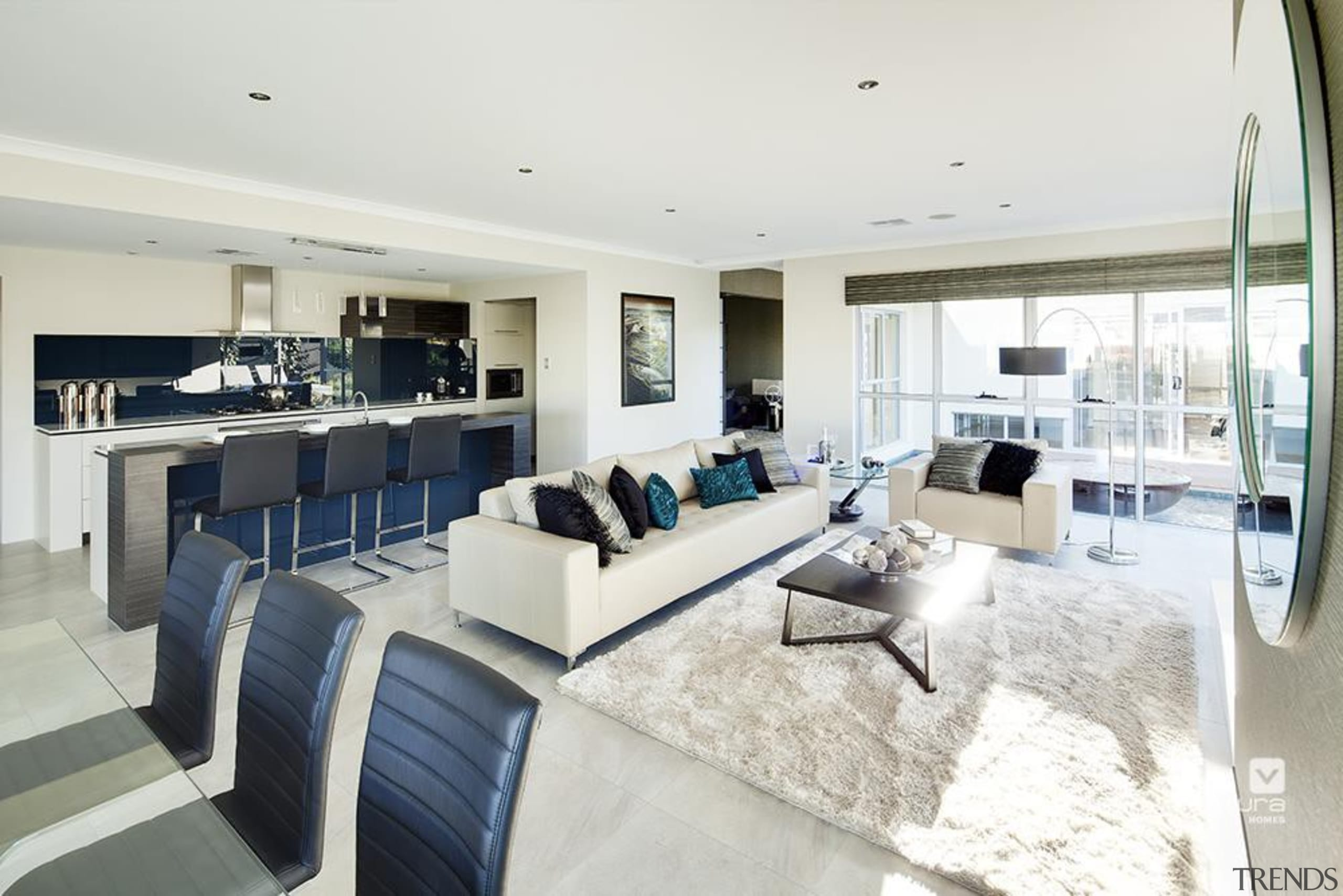 Living Room Design. - The Sentosa Display Home apartment, interior design, living room, penthouse apartment, property, real estate, white
