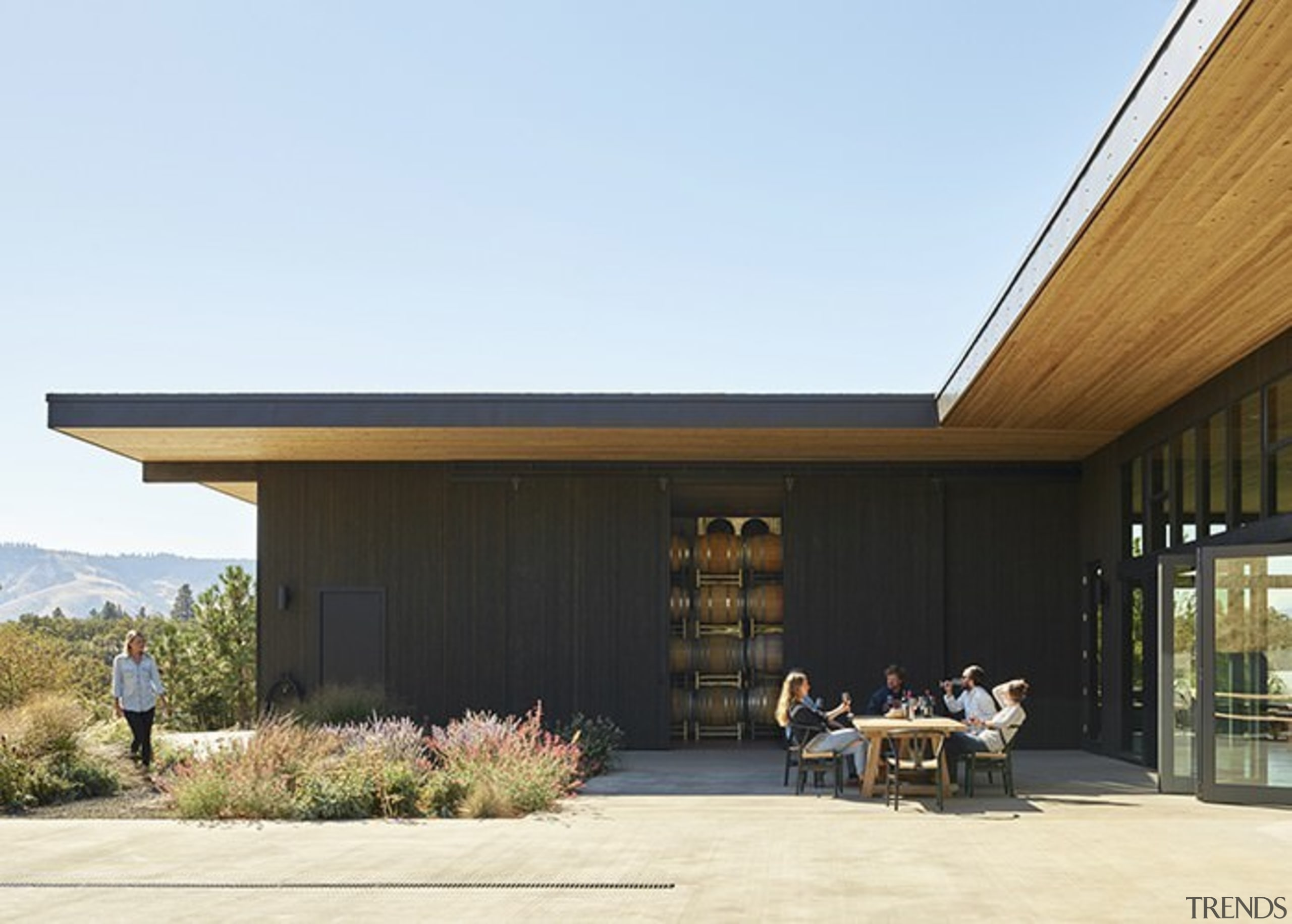 Architect: goCstudioPhotography by Kevin Scott, Kelly Turso architecture, facade, home, house, real estate, roof, shed, siding, white