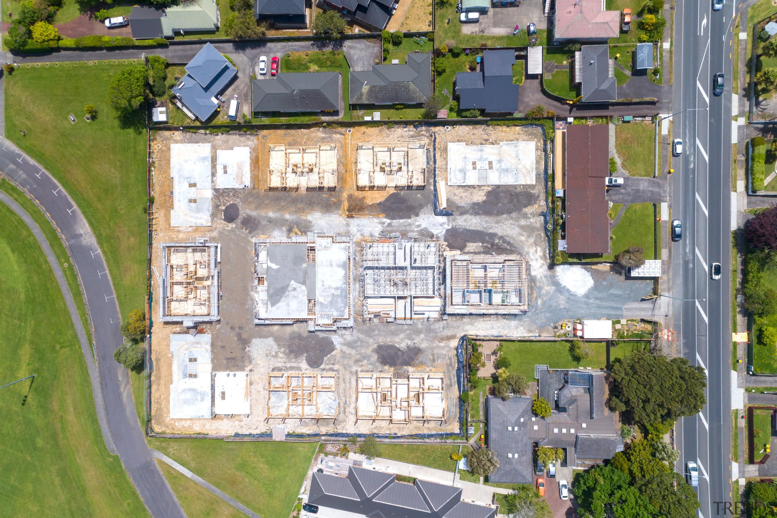 The new Treasure Plus development by EZ Building white