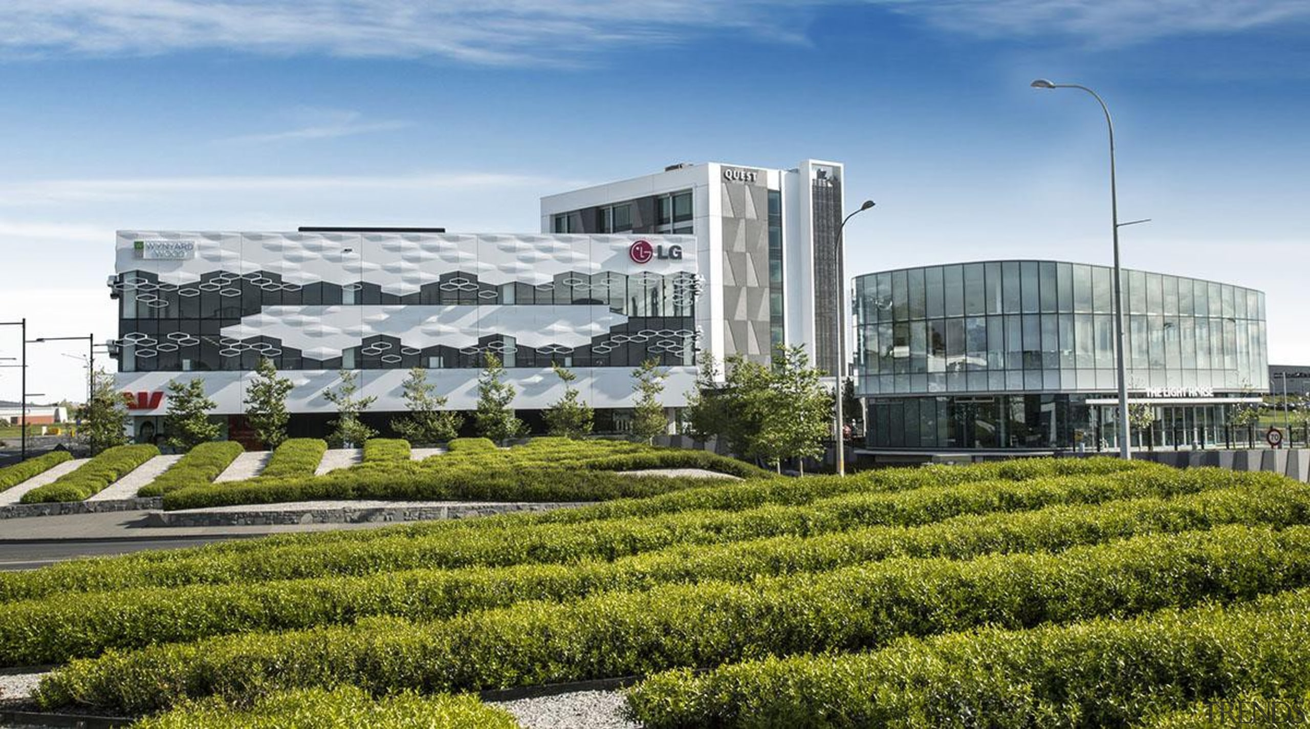 MERIT WINNERThe Crossing Highbrooks Business Park (1 of corporate headquarters, headquarters, mixed use, brown