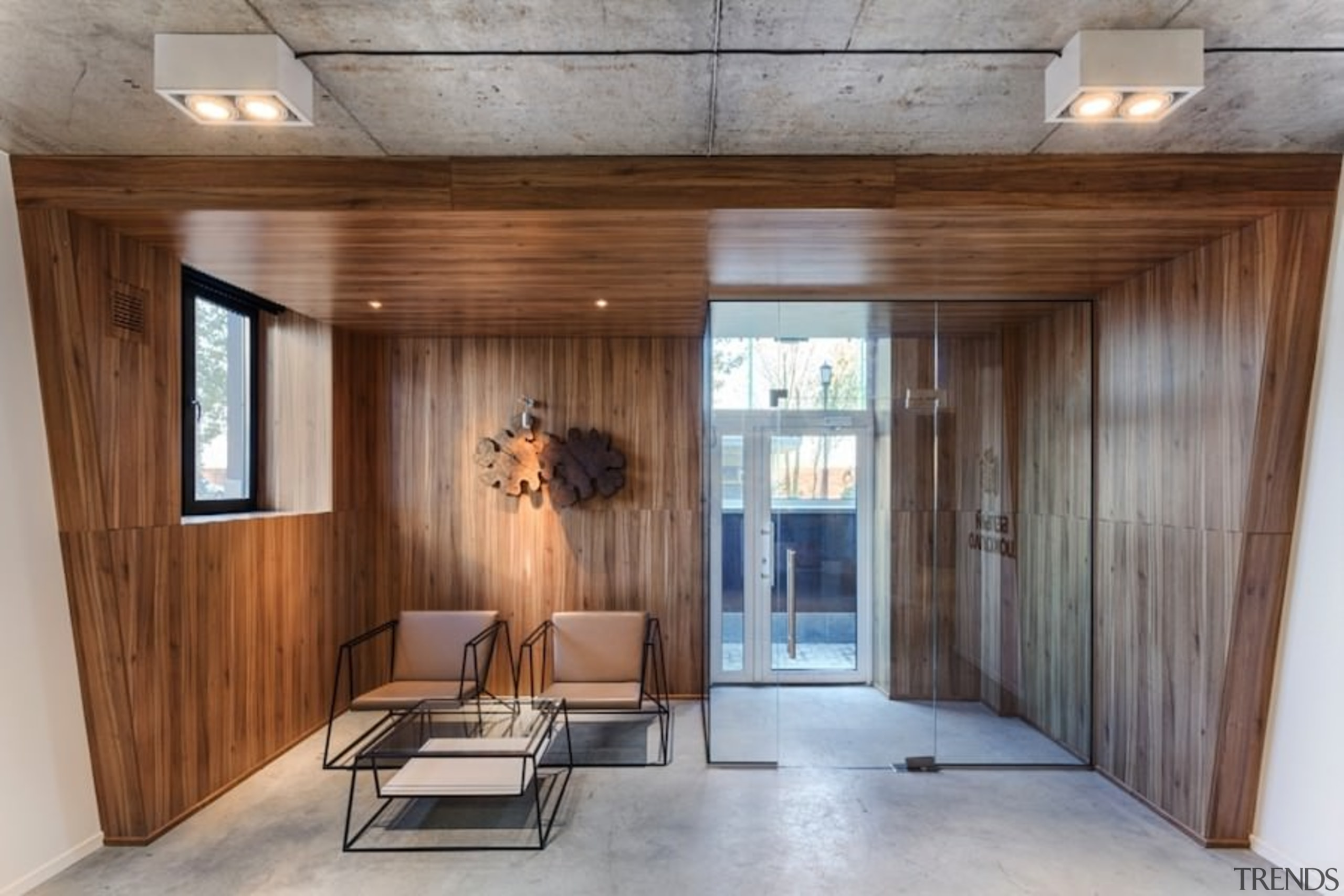 Architect: Martin Architects architecture, ceiling, floor, house, interior design, lobby, real estate, wood, gray, brown