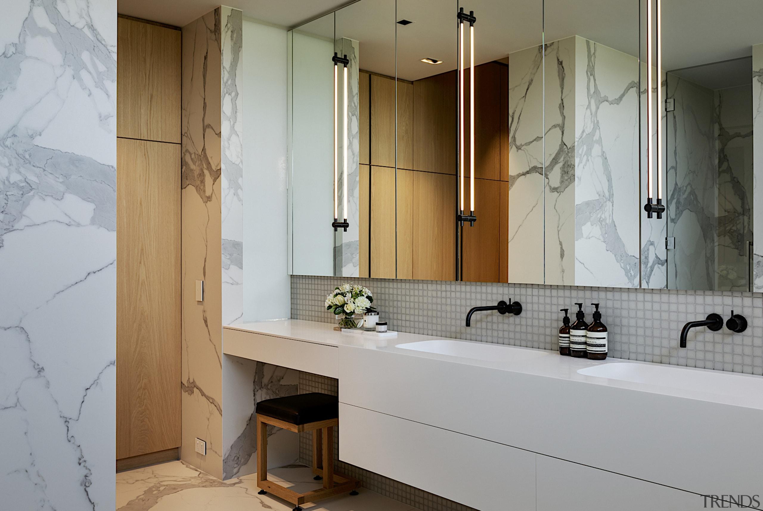 The design concept for this elegant suite was