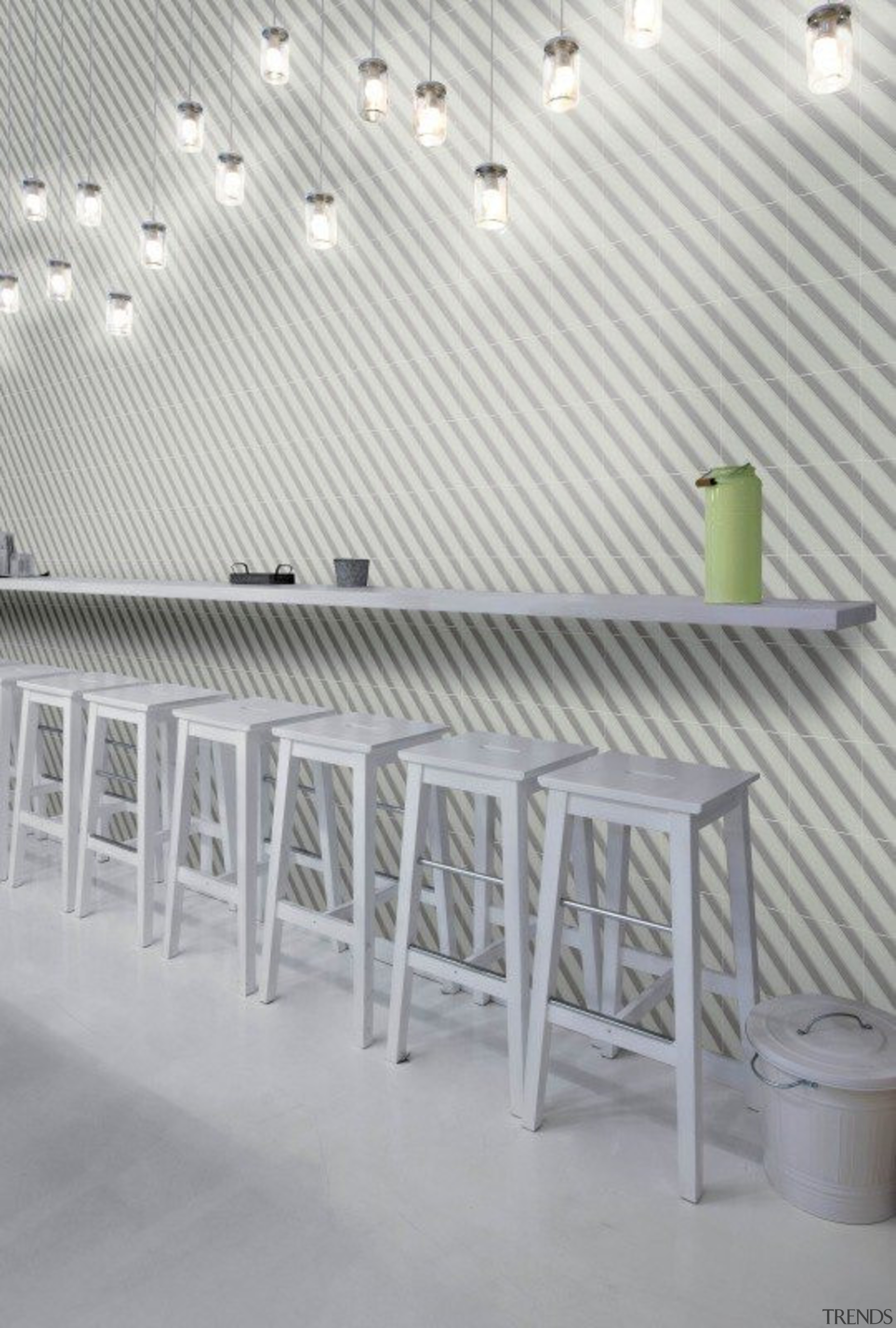 Ambient Touch - Ambient Touch - architecture | architecture, ceiling, daylighting, floor, furniture, line, product design, roof, structure, table, wall, gray