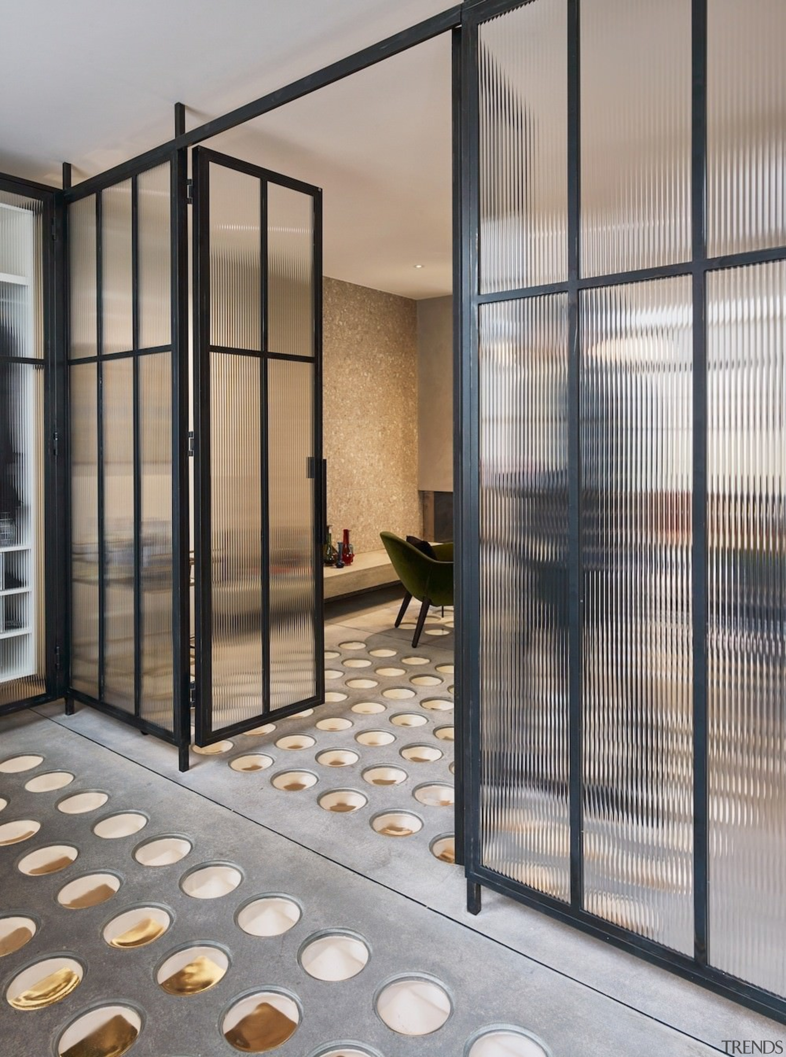 Andy Martin Architecture – Renovation in London - architecture, door, facade, glass, real estate, window, gray