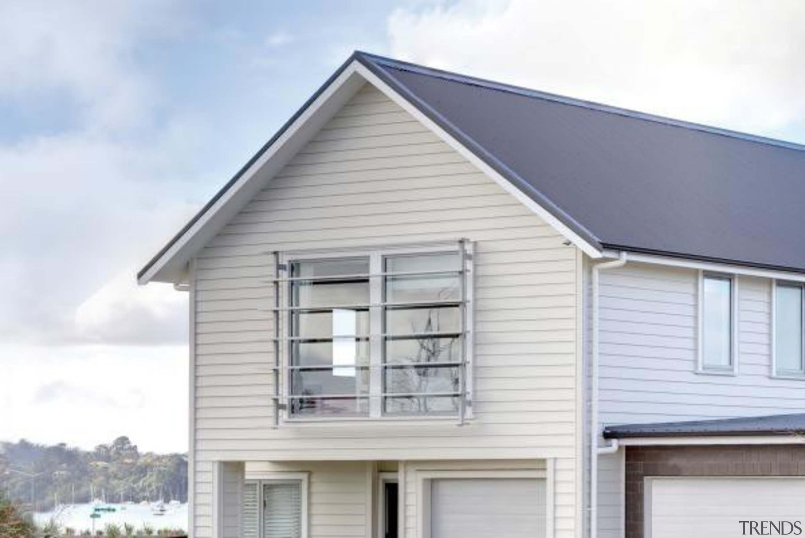 Axent Fascia - Axent Fascia - building | building, facade, home, house, property, real estate, roof, siding, window, white