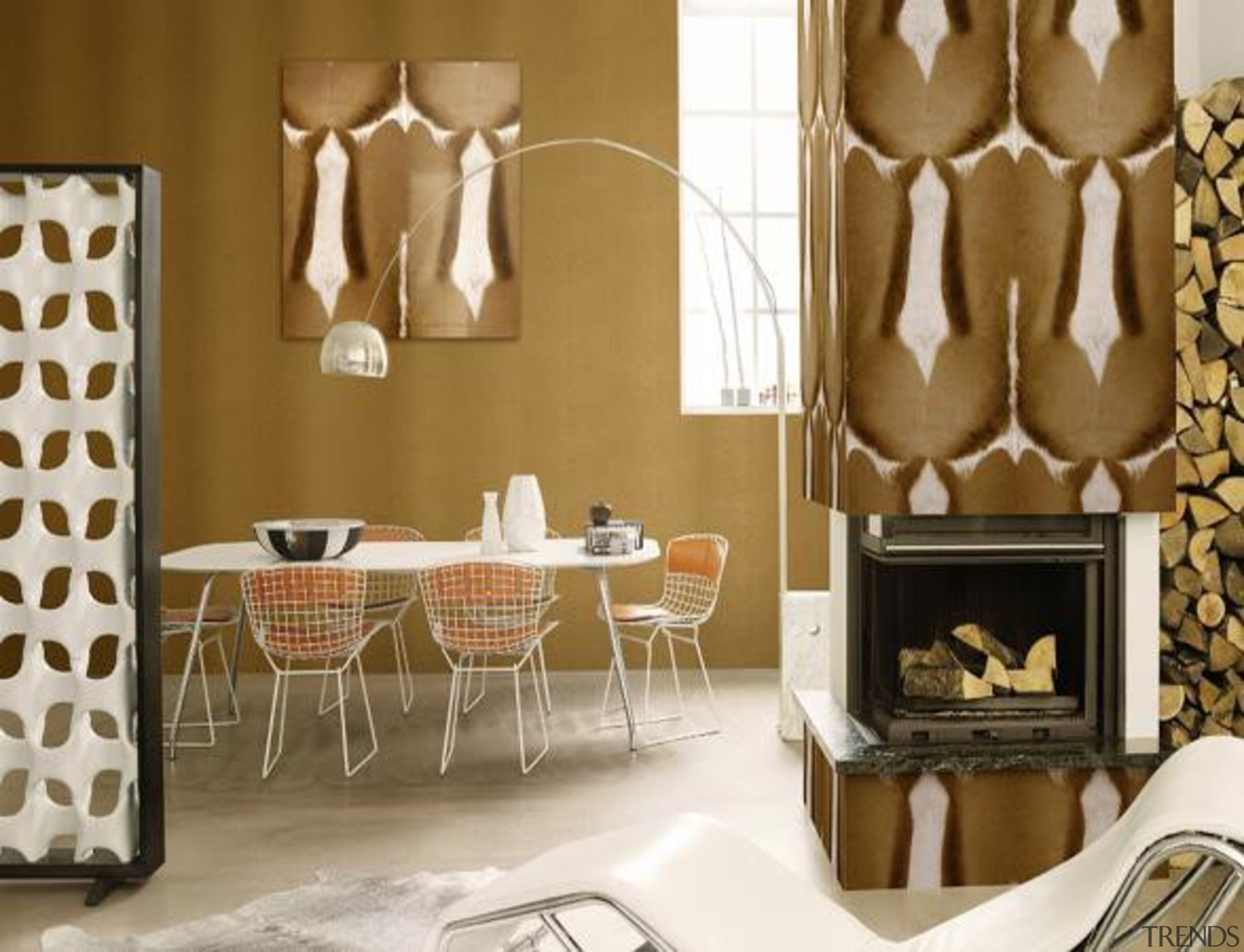 African Queen Range - African Queen Range - chair, dining room, furniture, interior design, living room, room, table, wall, brown, white