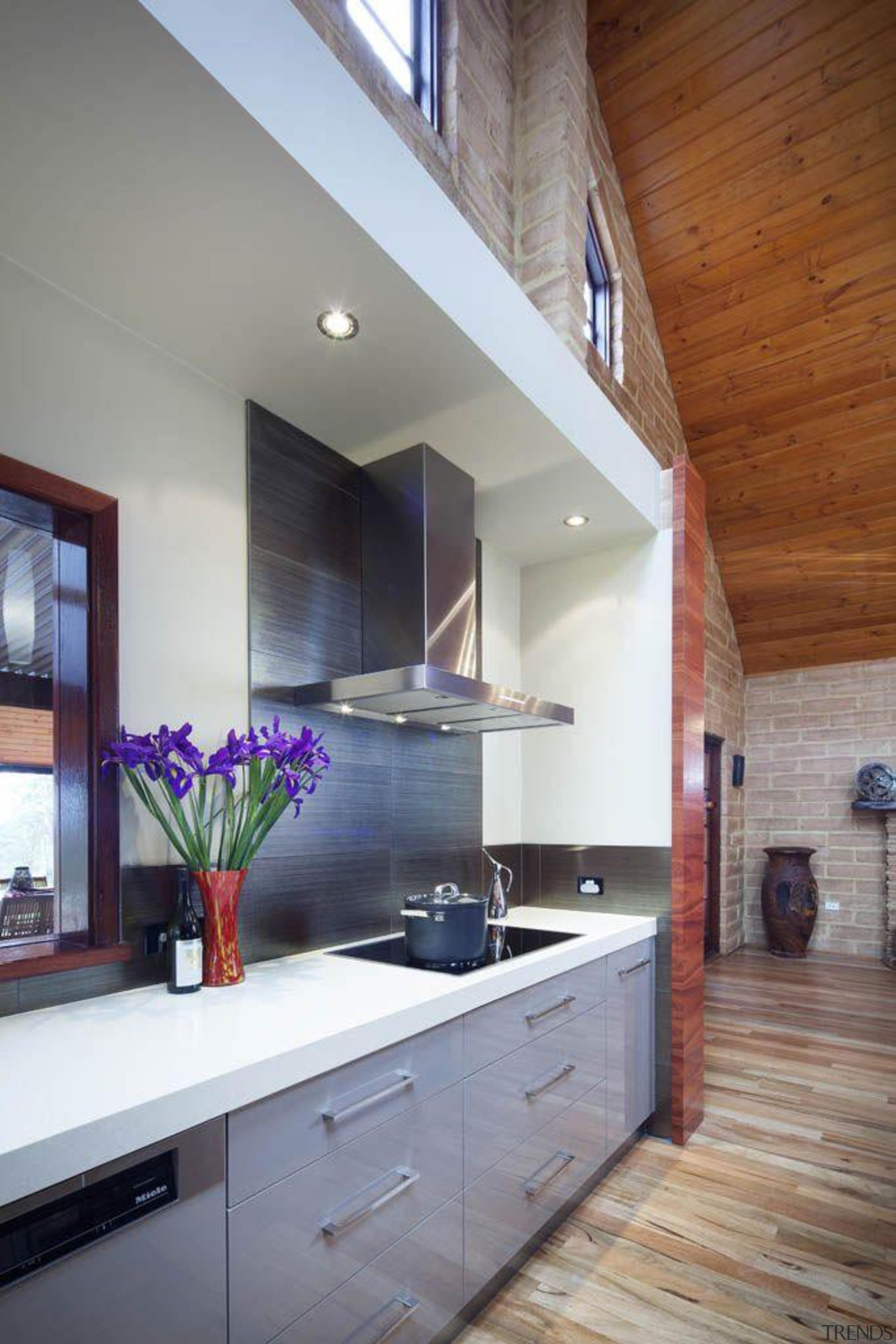 Alternative Kitchen Company Buttermilk - Buttermilk™ - architecture architecture, cabinetry, ceiling, countertop, daylighting, home, house, interior design, kitchen, real estate, room, gray