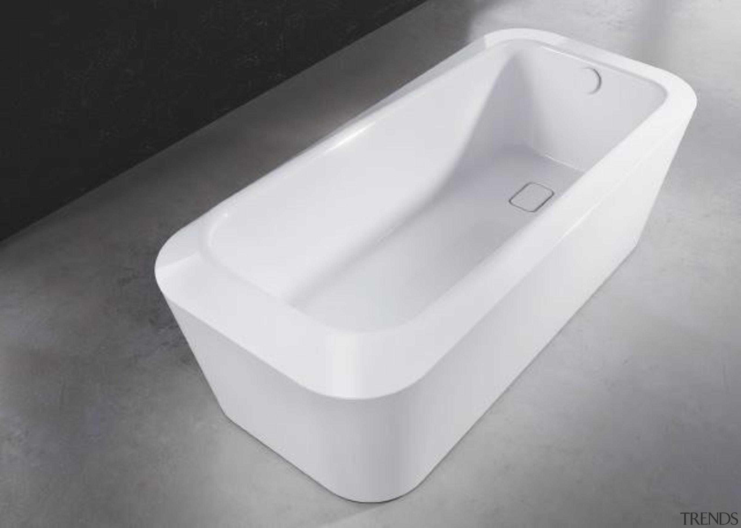 Working with star designer Arik Levy, Kaldewei has bathroom sink, bathtub, hardware, plumbing fixture, product, product design, tap, toilet seat, white, gray