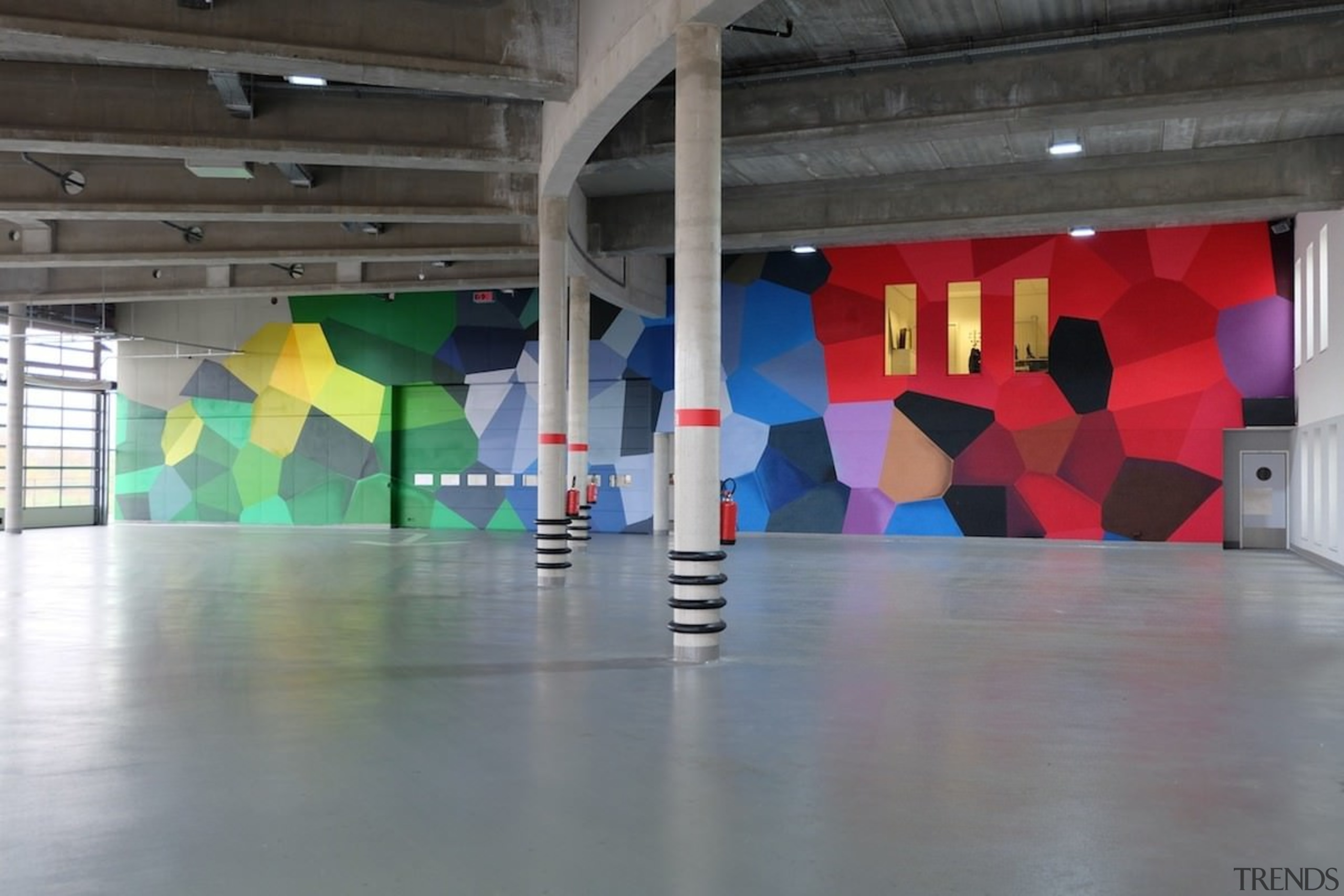 569 firestation - 569 firestation - art | art, art gallery, exhibition, floor, modern art, tourist attraction, gray