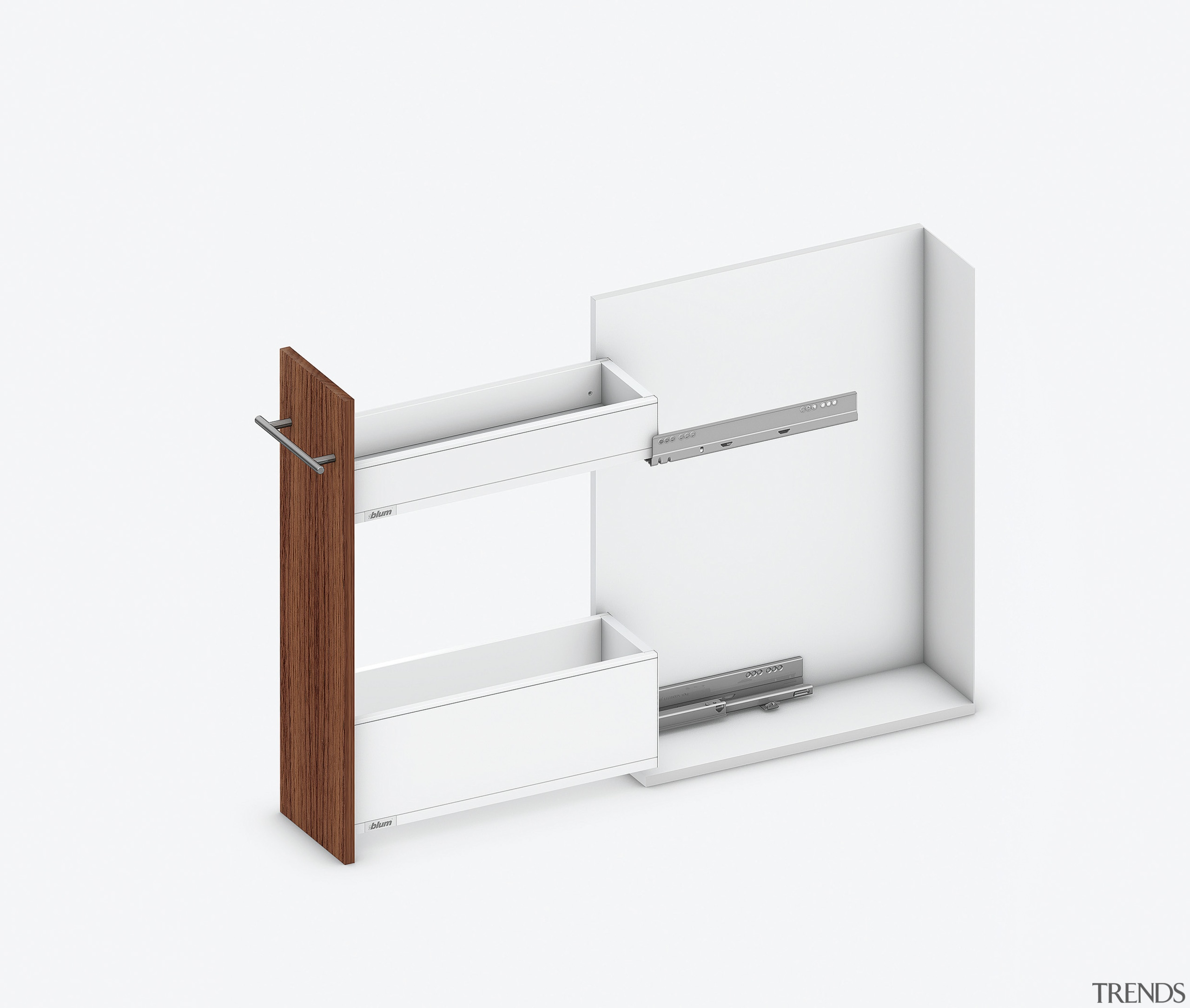 Blum SPACE TWIN with TANDEMBOX 1 -