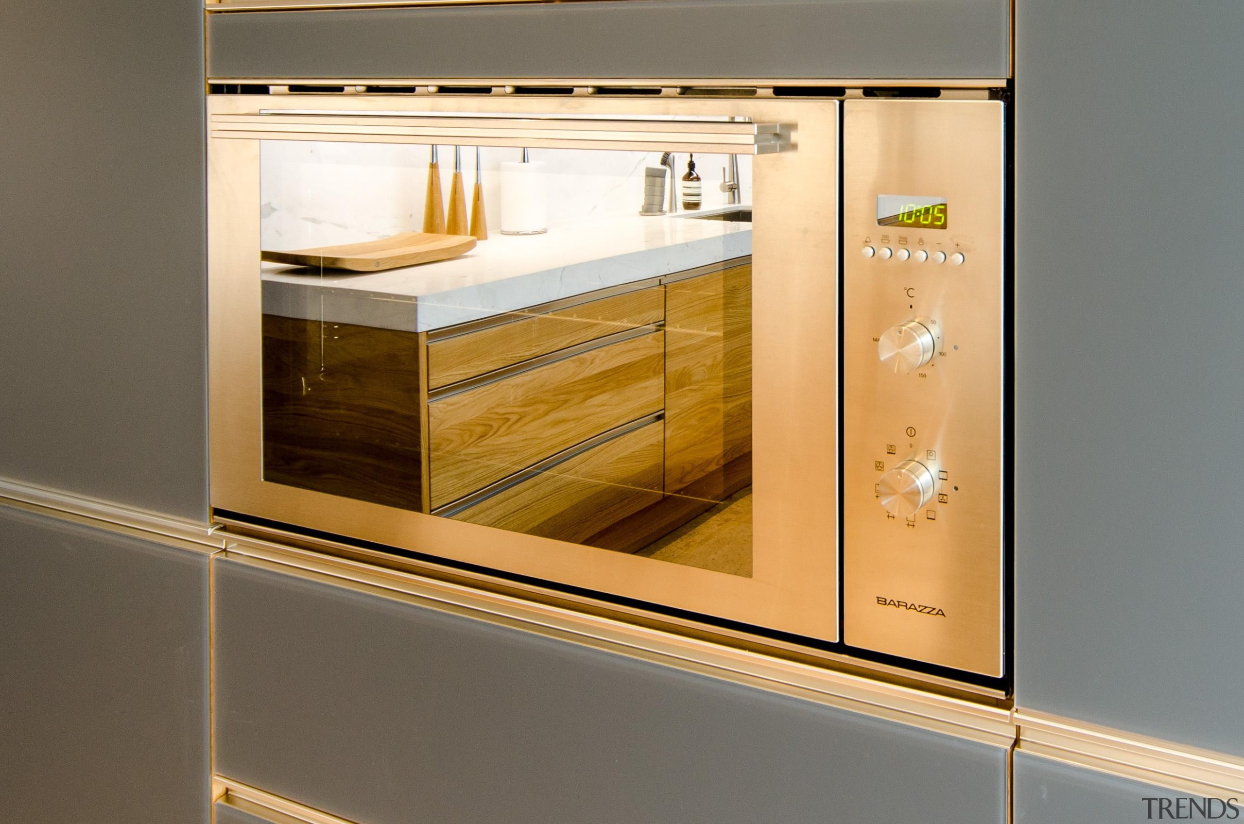 Pepper Design - Team 7 Kitchen - cabinetry cabinetry, display case, furniture, home appliance, kitchen, major appliance, product design, gray