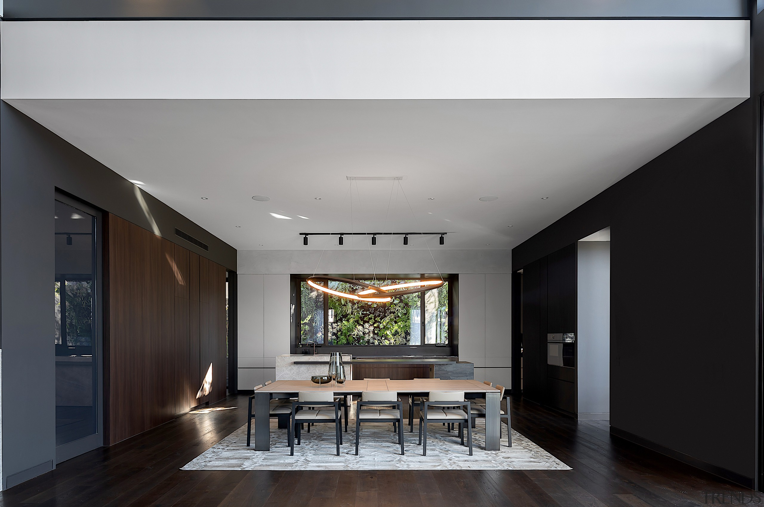 Kitchens don't come much more dramatic than this