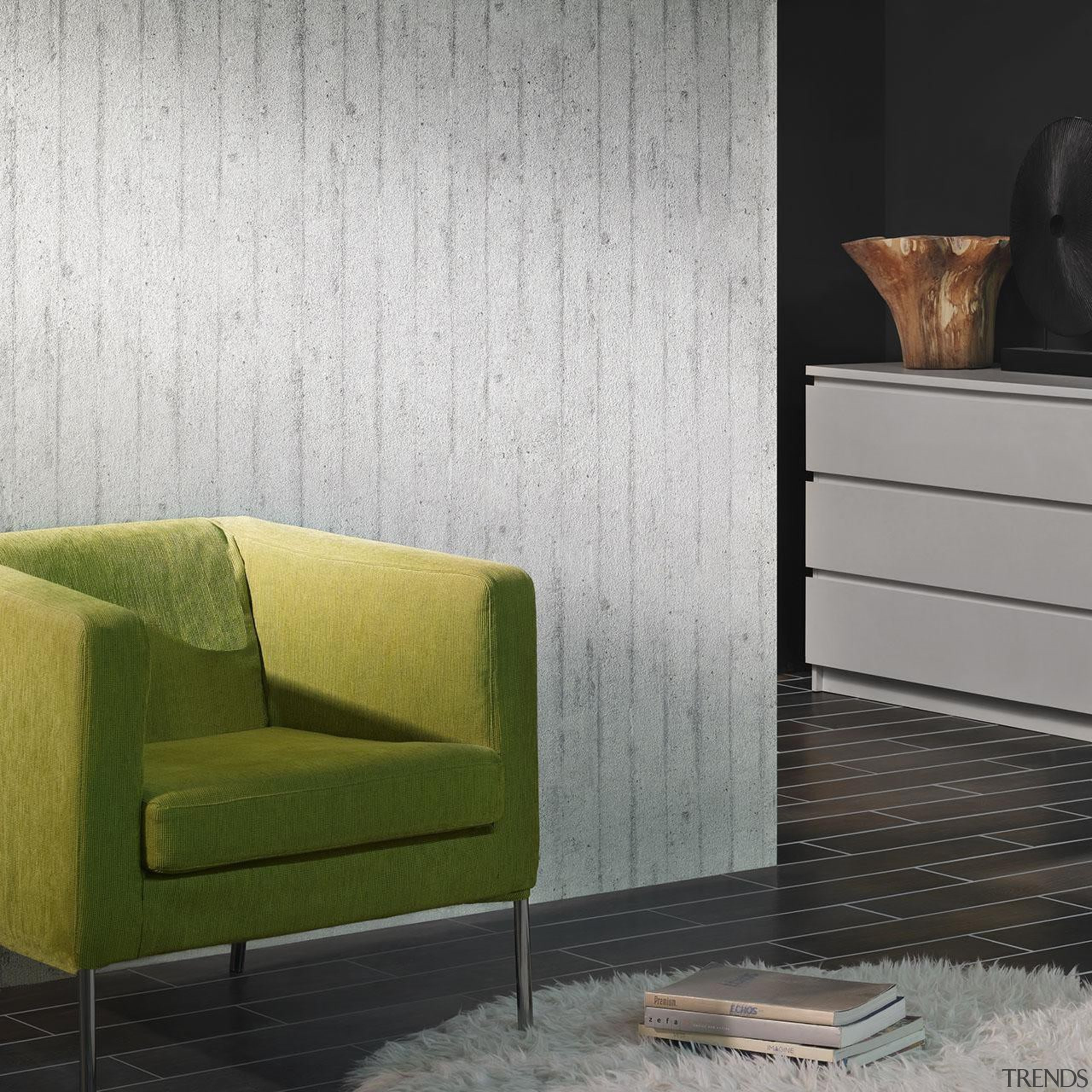 Modern Style Range - angle | chair | angle, chair, chest of drawers, coffee table, couch, floor, flooring, furniture, hardwood, interior design, living room, product design, sofa bed, table, wall, wood, wood flooring, wood stain, gray, white