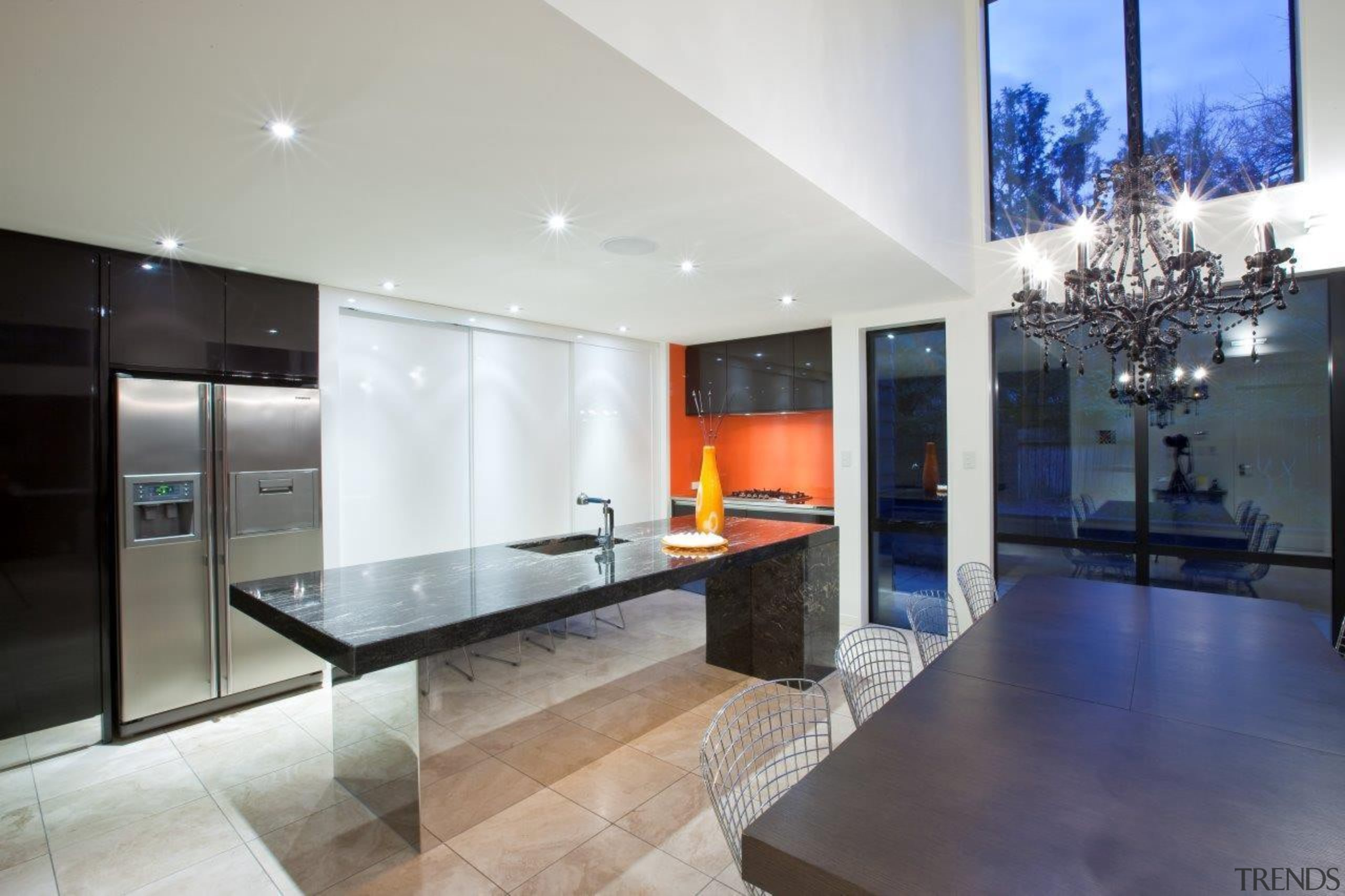 wellington kitchen 4.jpg - wellington_kitchen_4.jpg - architecture | architecture, ceiling, countertop, floor, house, interior design, kitchen, living room, property, real estate, gray