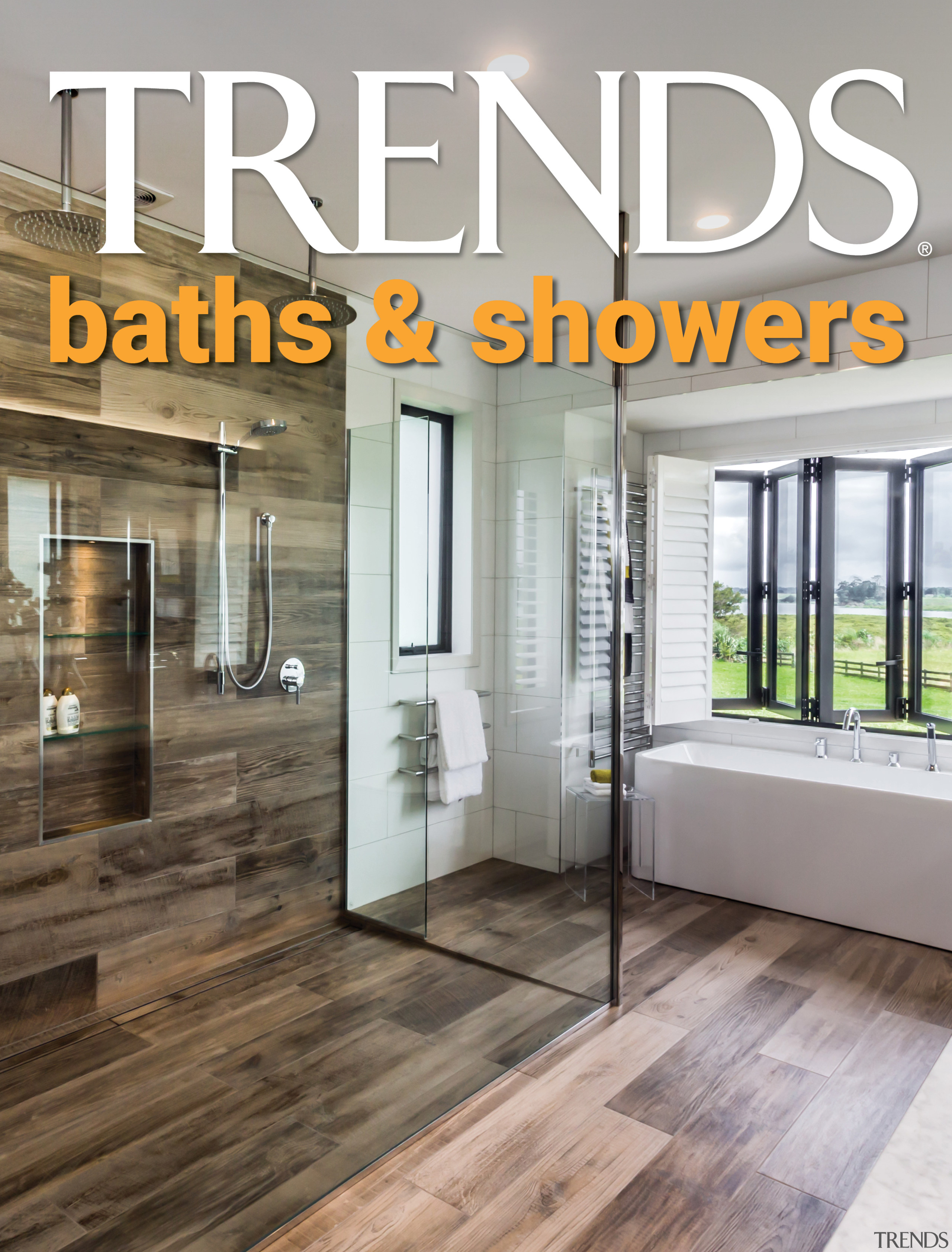 TRENDS MINI COVER baths showers -