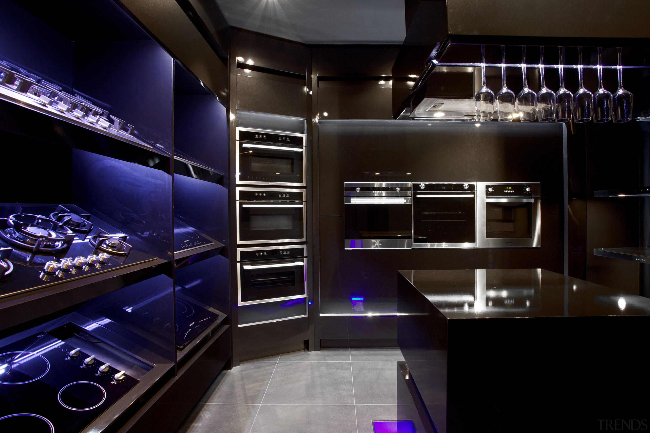 Eisno Lifetech Appliances is an international company focused countertop, interior design, kitchen, room, black