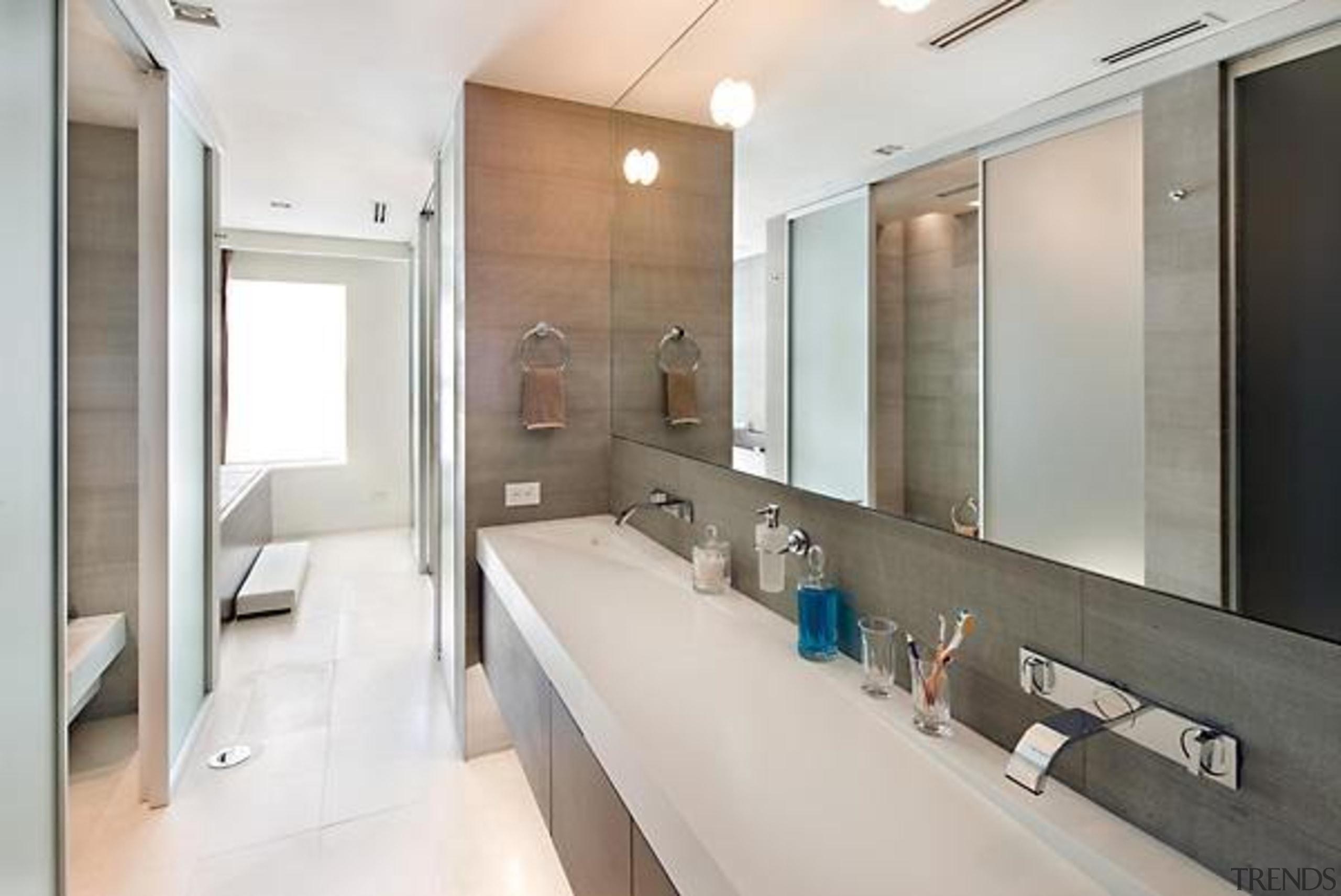Source: Trulia architecture, bathroom, interior design, real estate, room, sink, white, gray