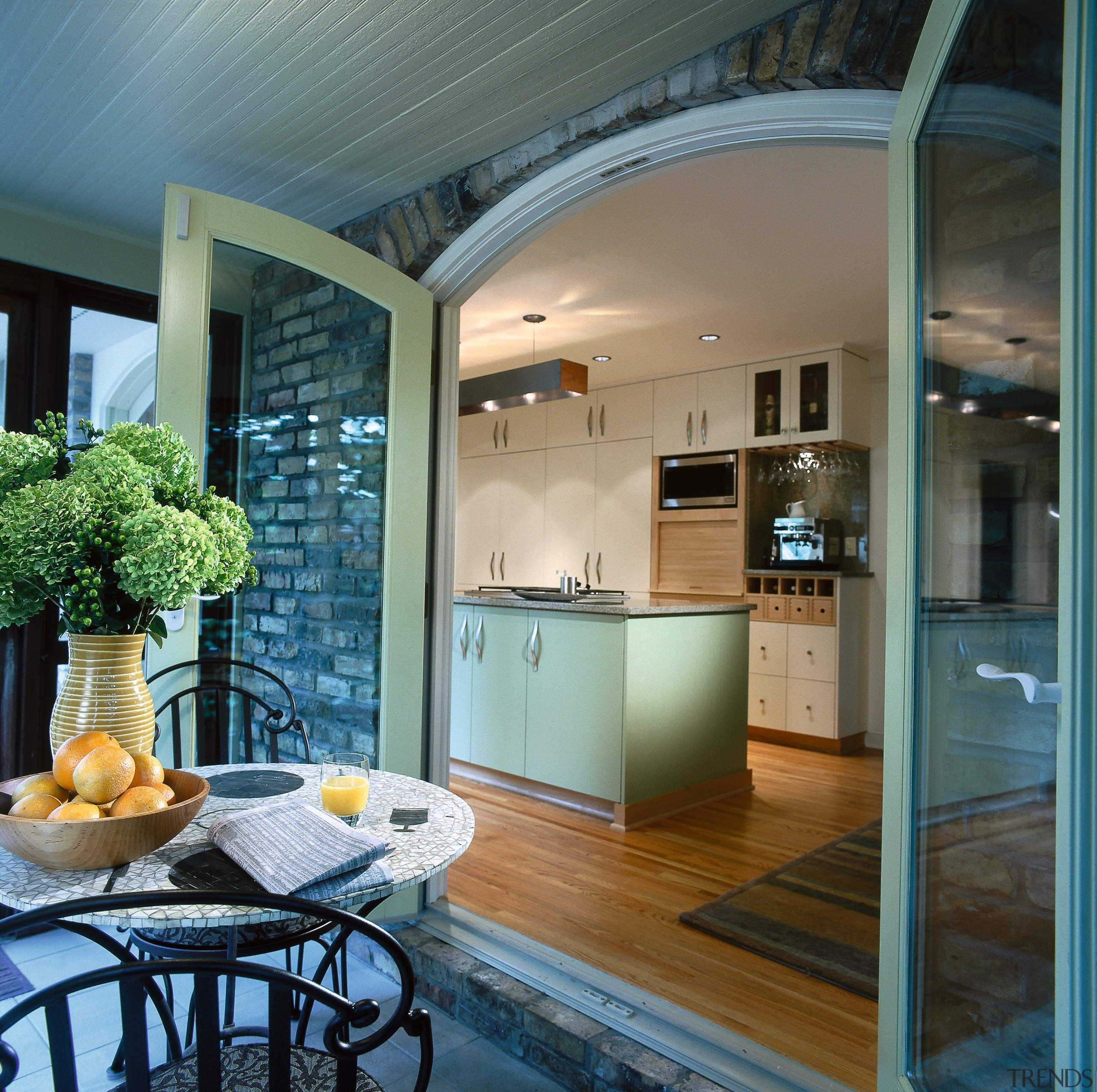Kitchen Leading Out Onto A Covered Gallery 5 Trends