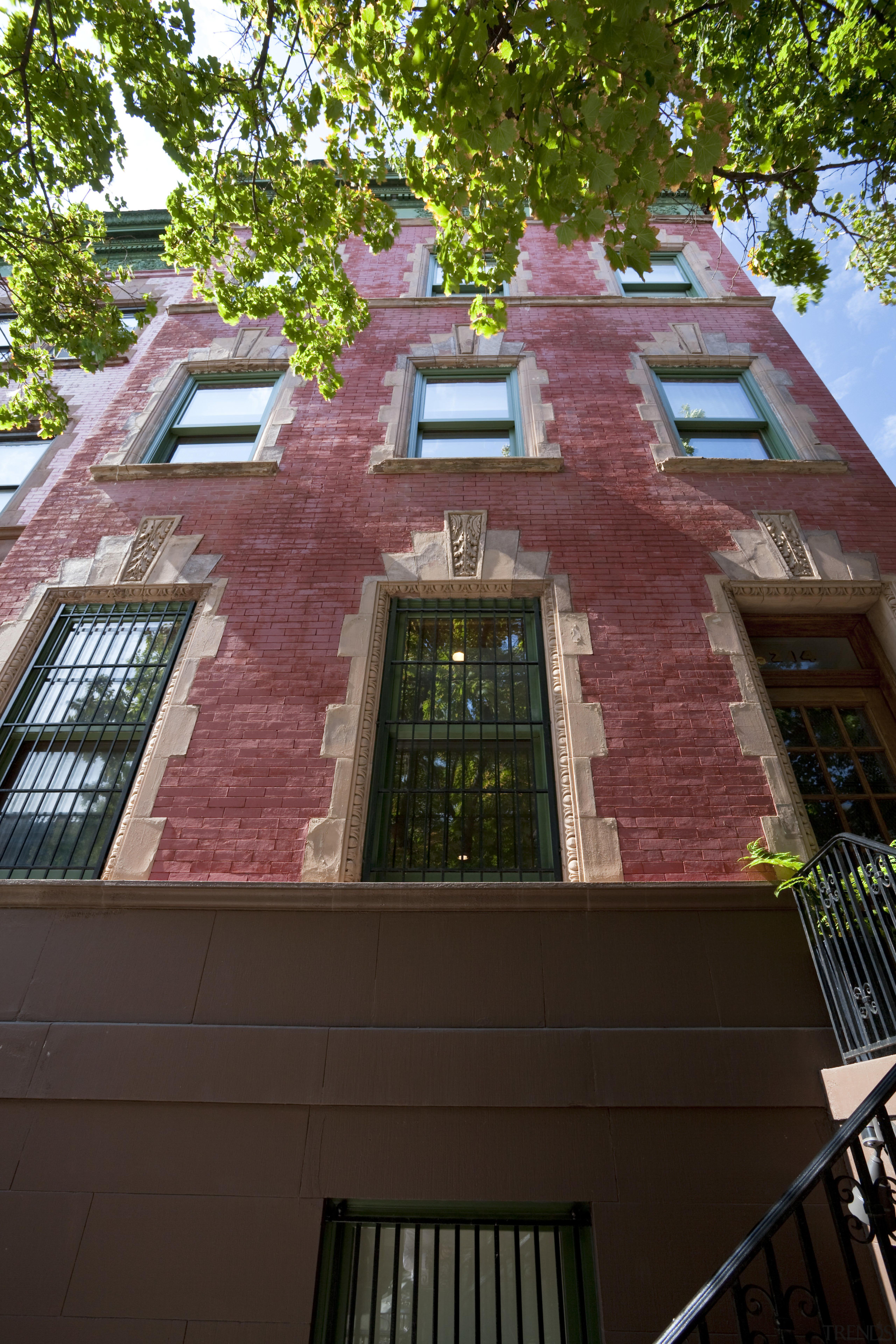 This house was remodeled by Architect Brian J. apartment, architecture, brick, building, facade, home, house, landmark, neighbourhood, property, real estate, residential area, roof, window, brown