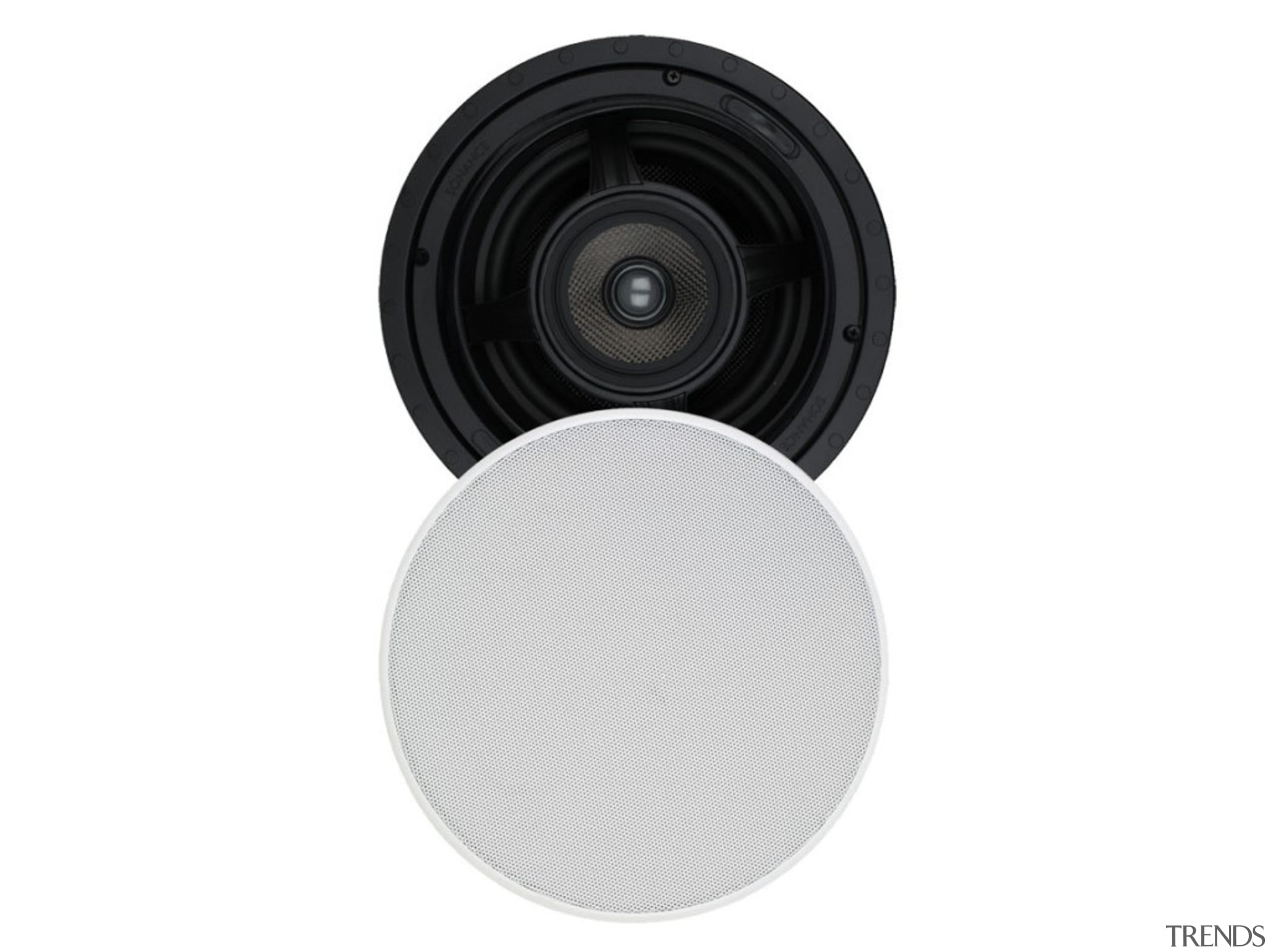 In-ceiling speakers let you enjoy music and clearly product, white