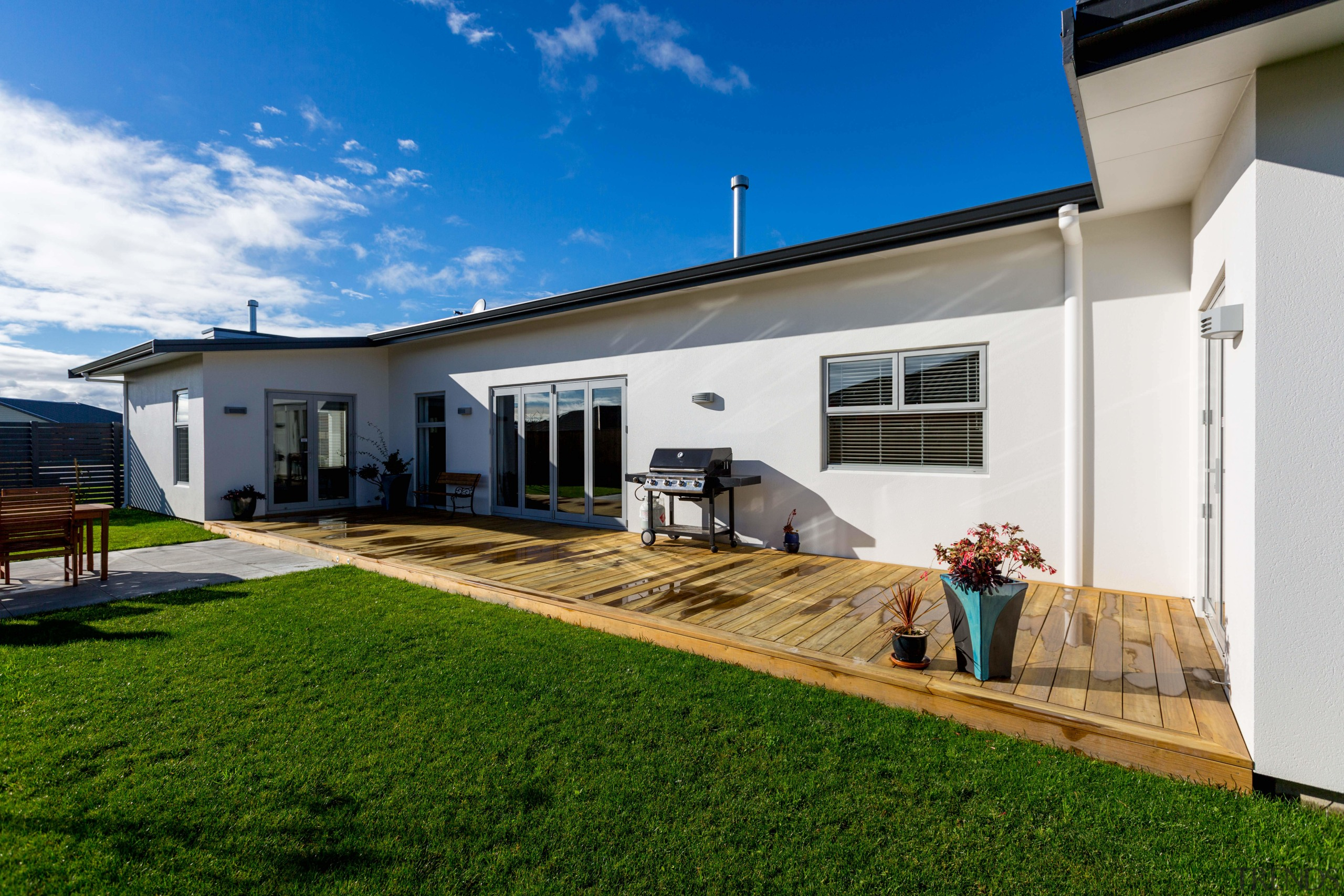 Designed and built by Fowler Homes Manawatu, this architecture, estate, facade, home, house, property, real estate, villa, window