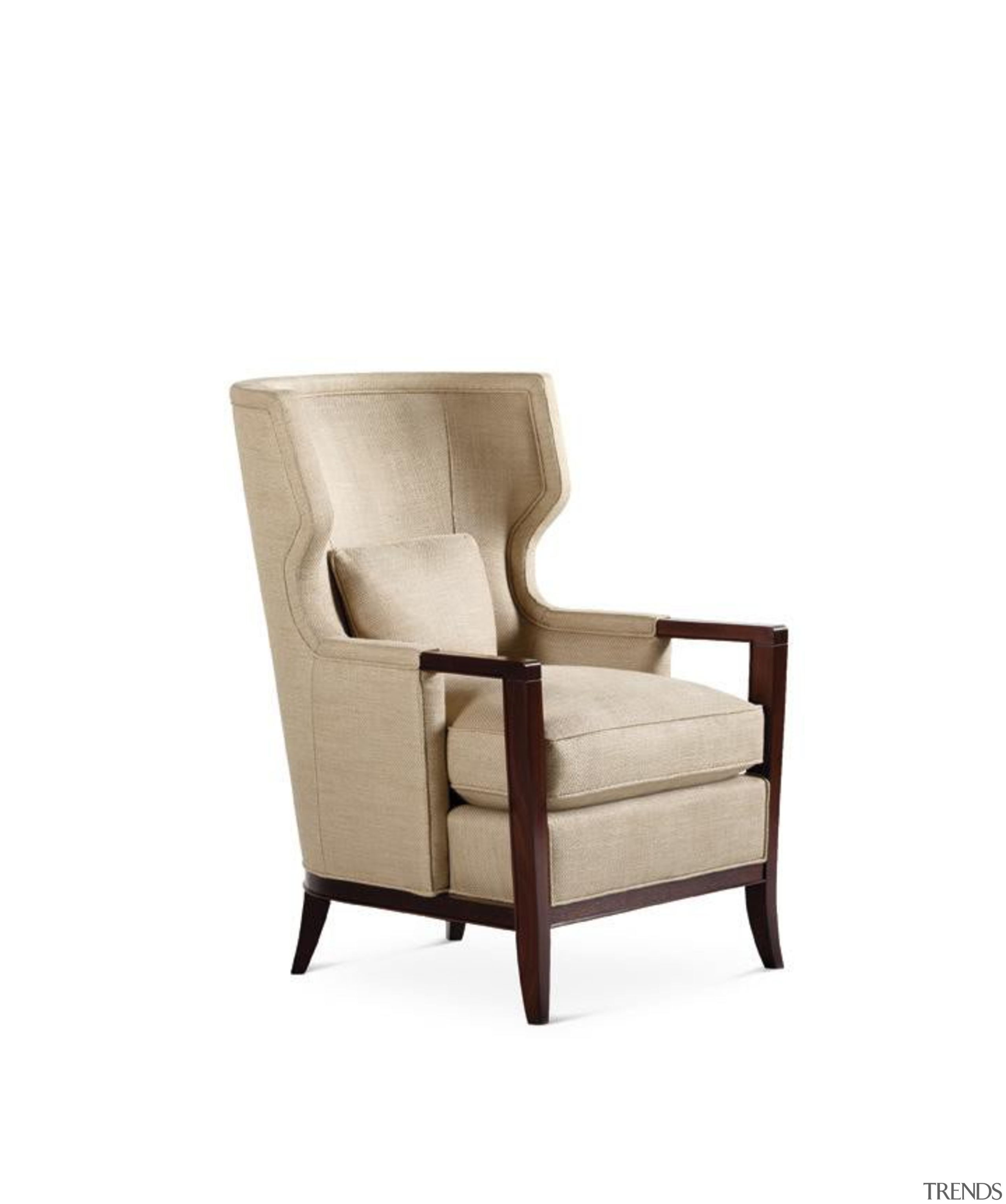 The work of William Sofield is defined not armrest, chair, club chair, furniture, product, product design, white