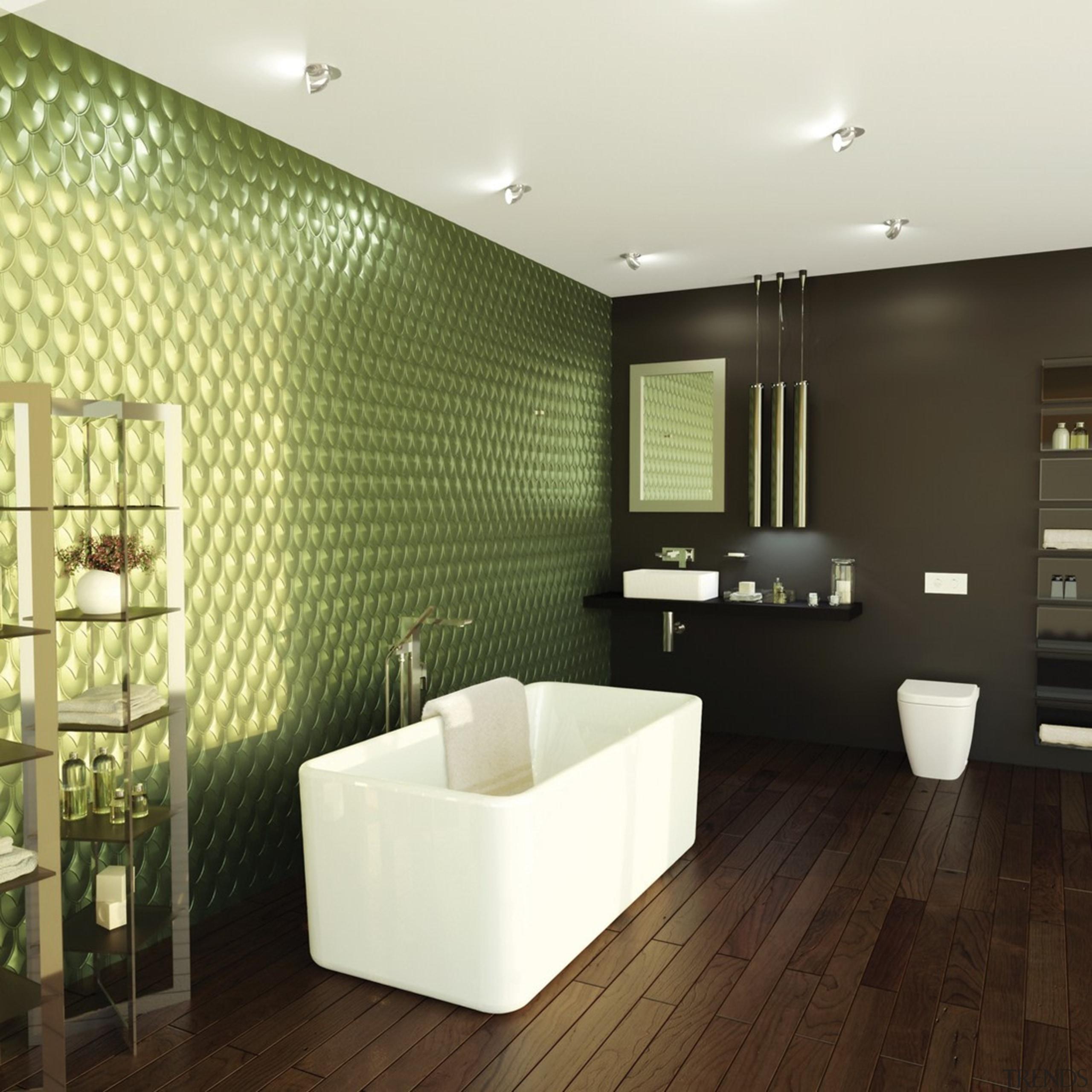 Caroma Cube - Caroma Cube - bathroom | bathroom, ceiling, floor, flooring, interior design, tile, wall, wood flooring, black, white