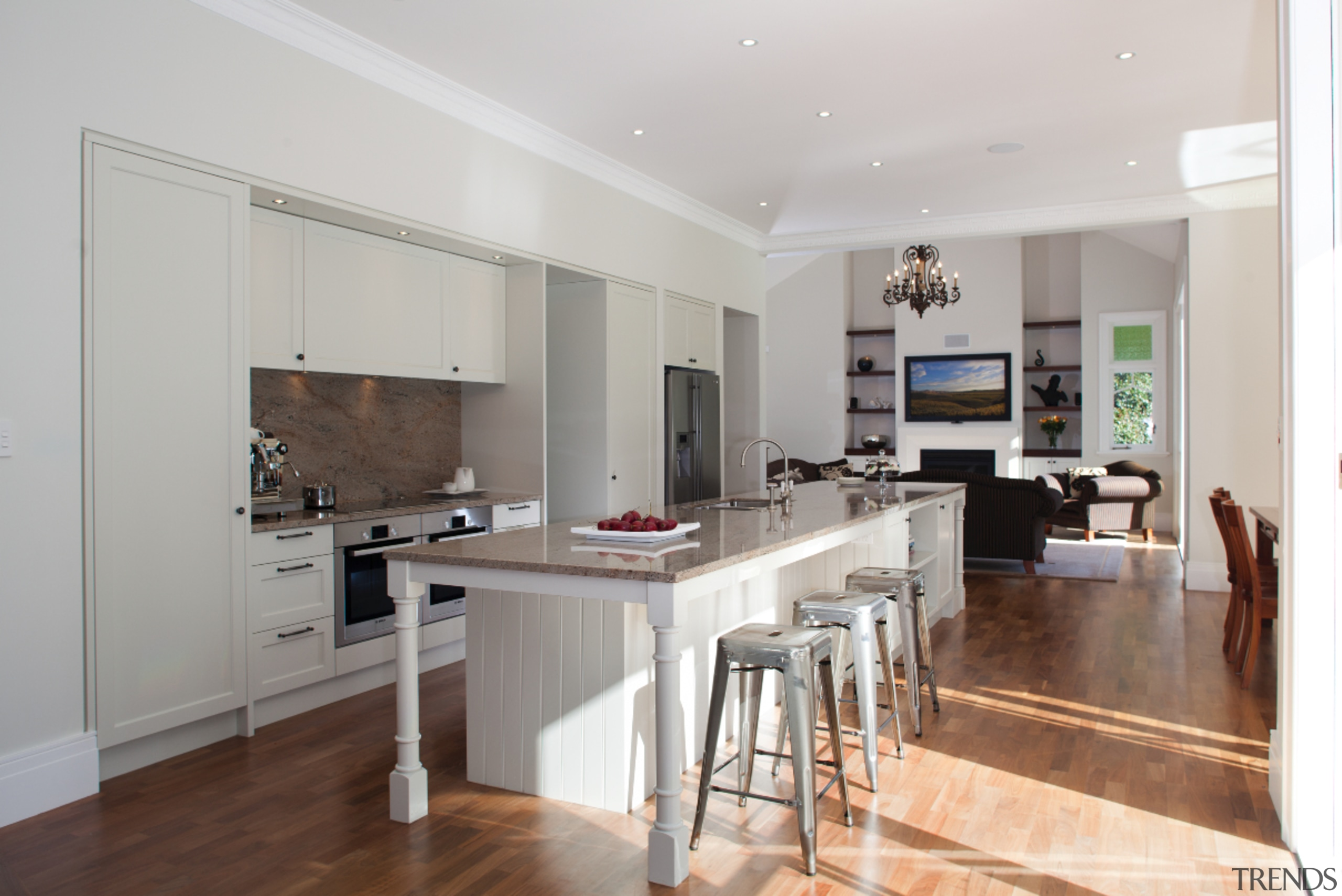 Epsom - countertop | cuisine classique | floor countertop, cuisine classique, floor, flooring, hardwood, interior design, kitchen, laminate flooring, property, real estate, room, wood flooring, gray