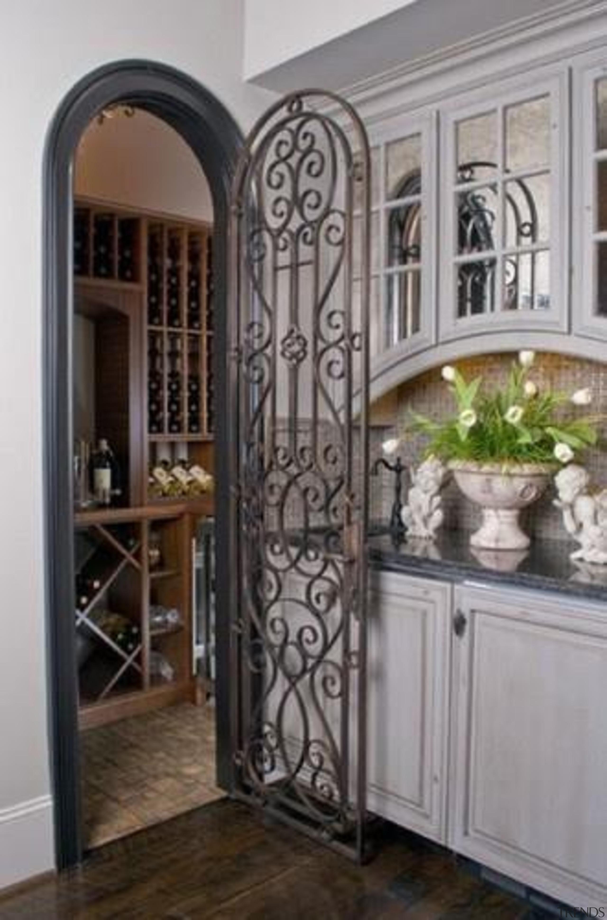 Modern Wine Cellar Ideas - Modern Wine Cellar cabinetry, door, interior design, iron, window, gray, black