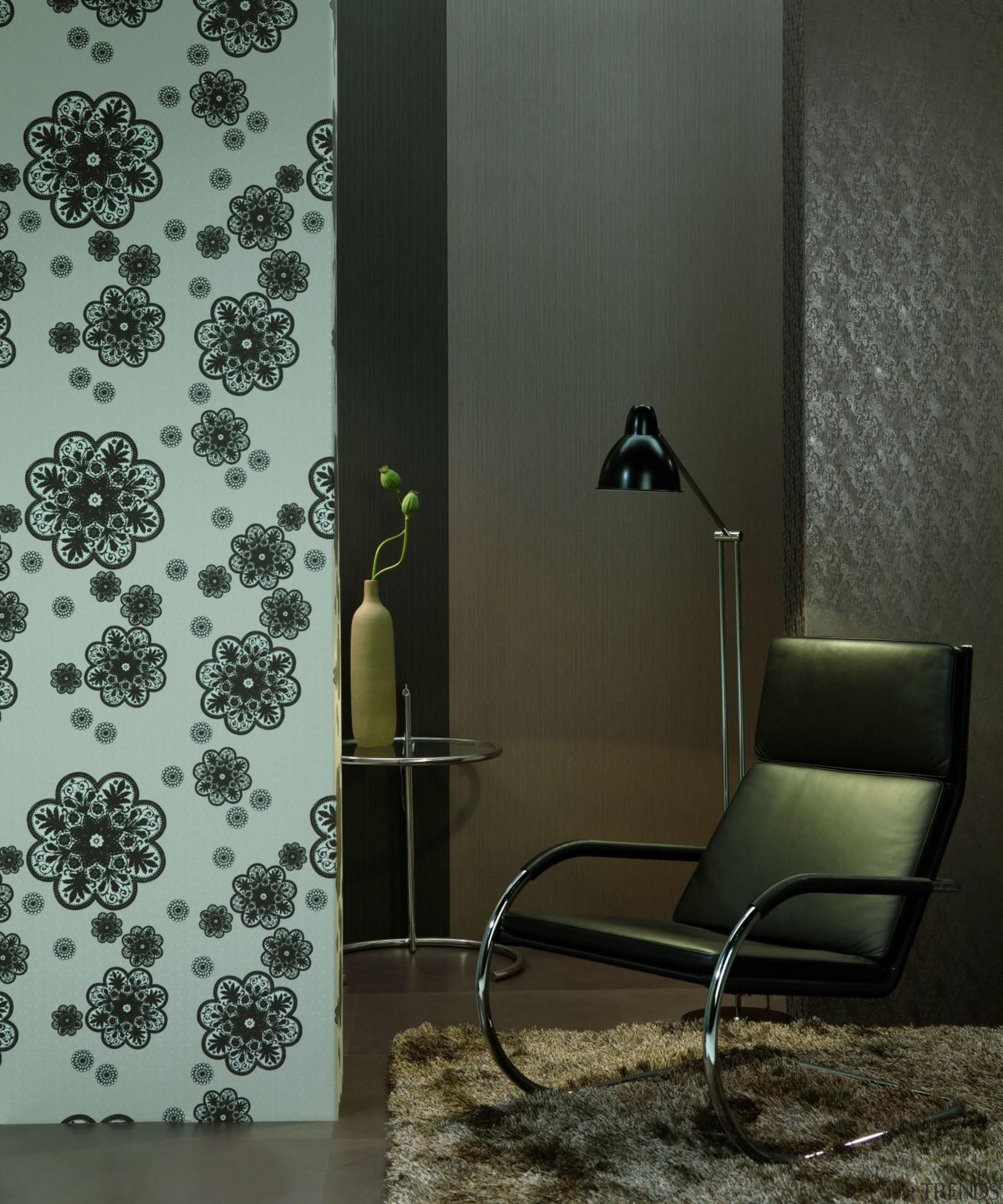 Modern Style Range - interior design | wall interior design, wall, wallpaper, black, gray