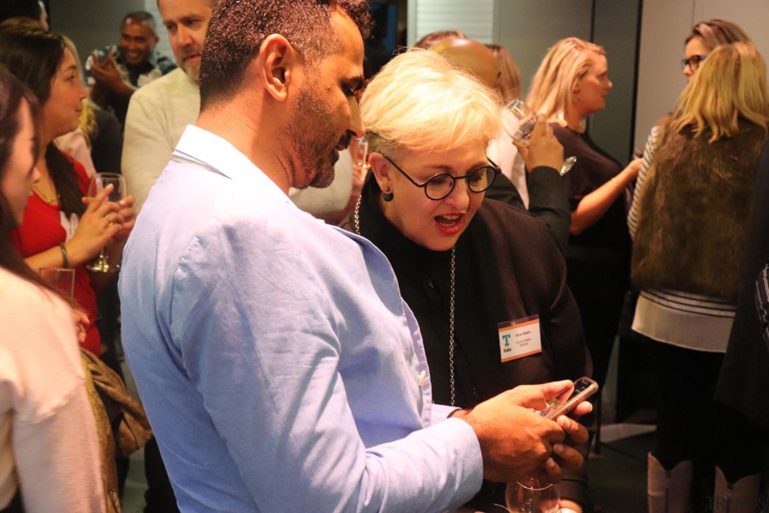 Yusuf Jariwala (Apex)  with Celia Visser (Celia event, black